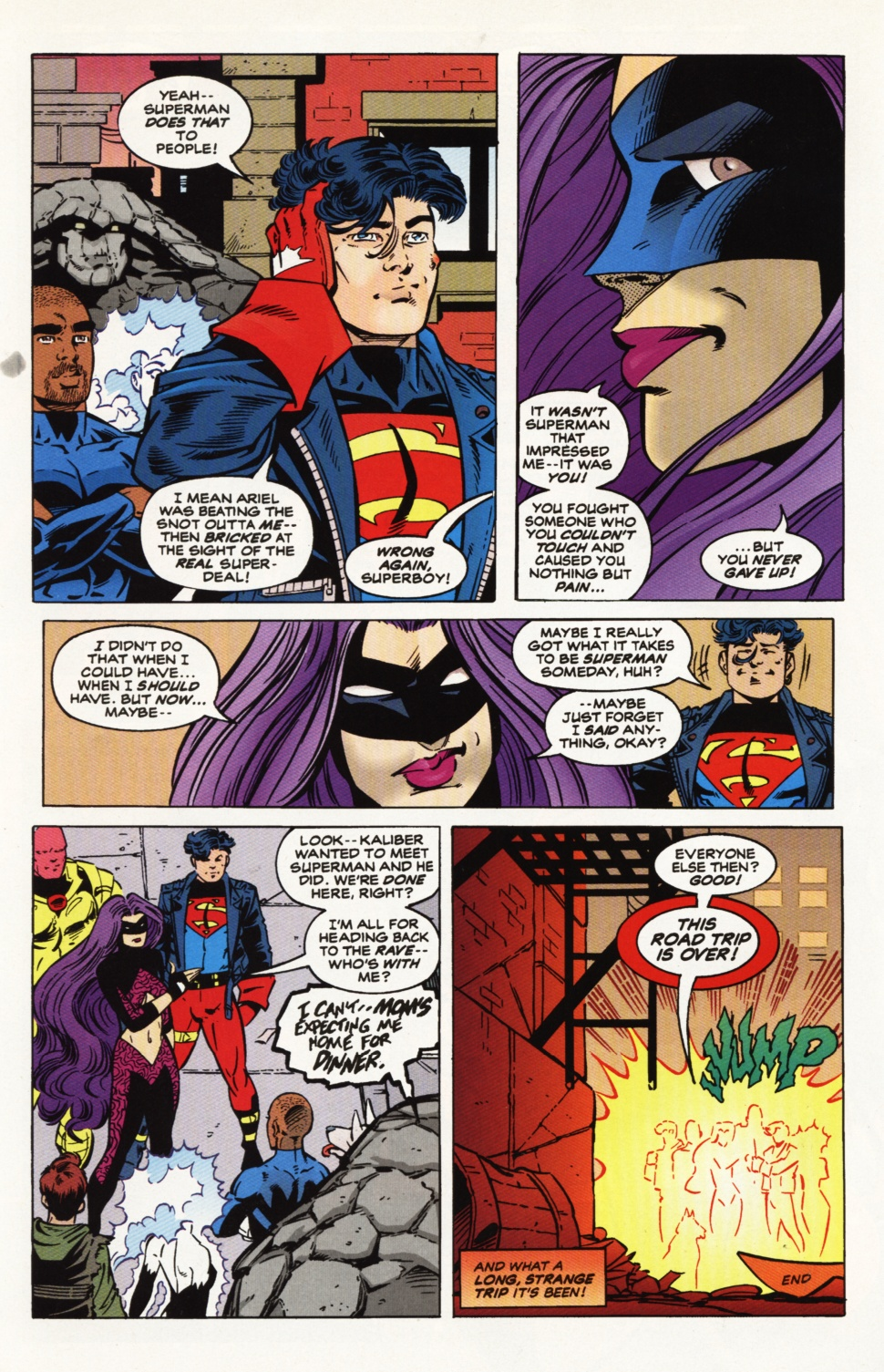 Read online Superboy & The Ravers comic -  Issue #9 - 23