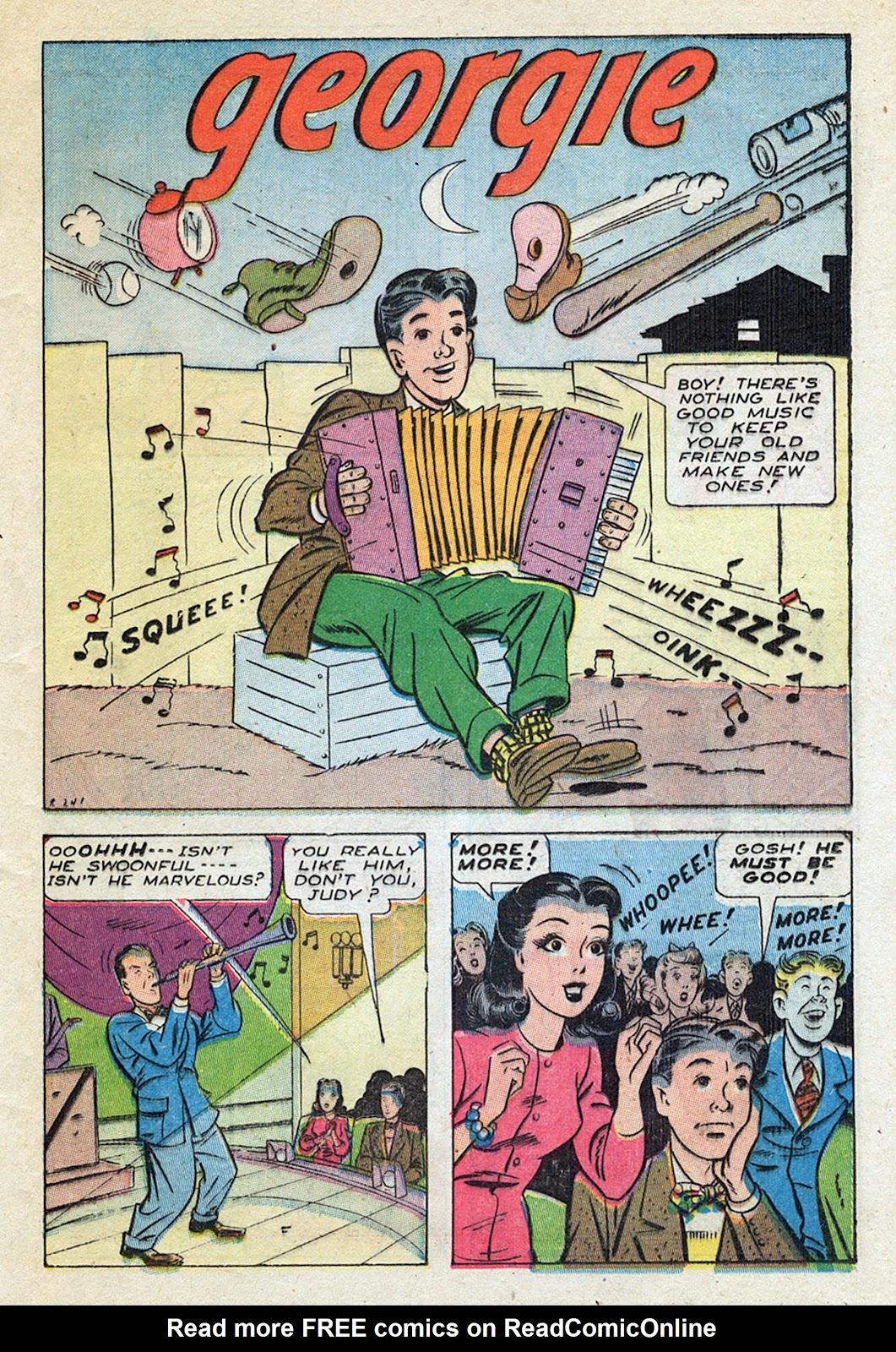 Georgie Comics (1945) issue 4 - Page 35
