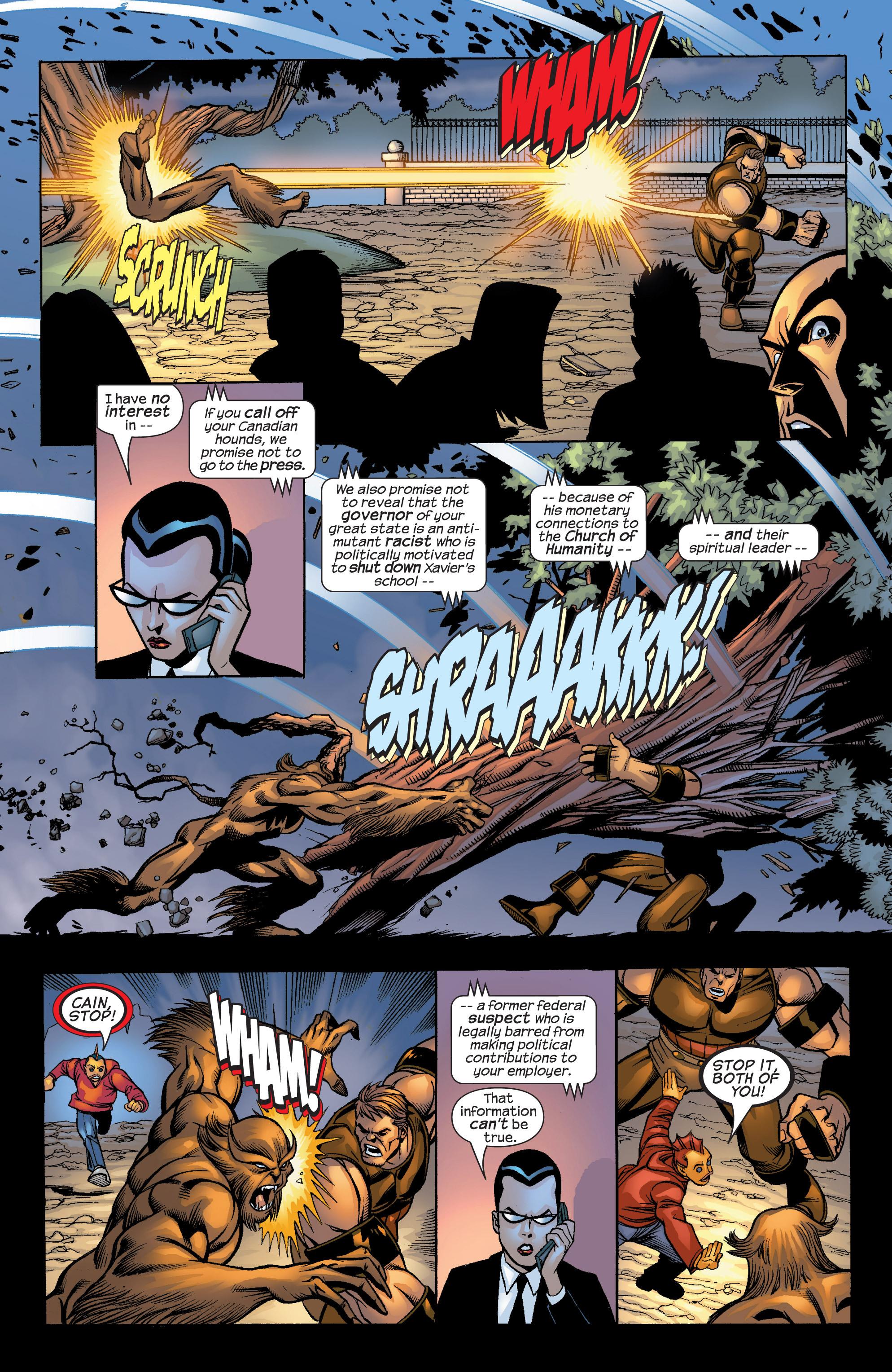 Read online Uncanny X-Men (1963) comic -  Issue #422 - 33