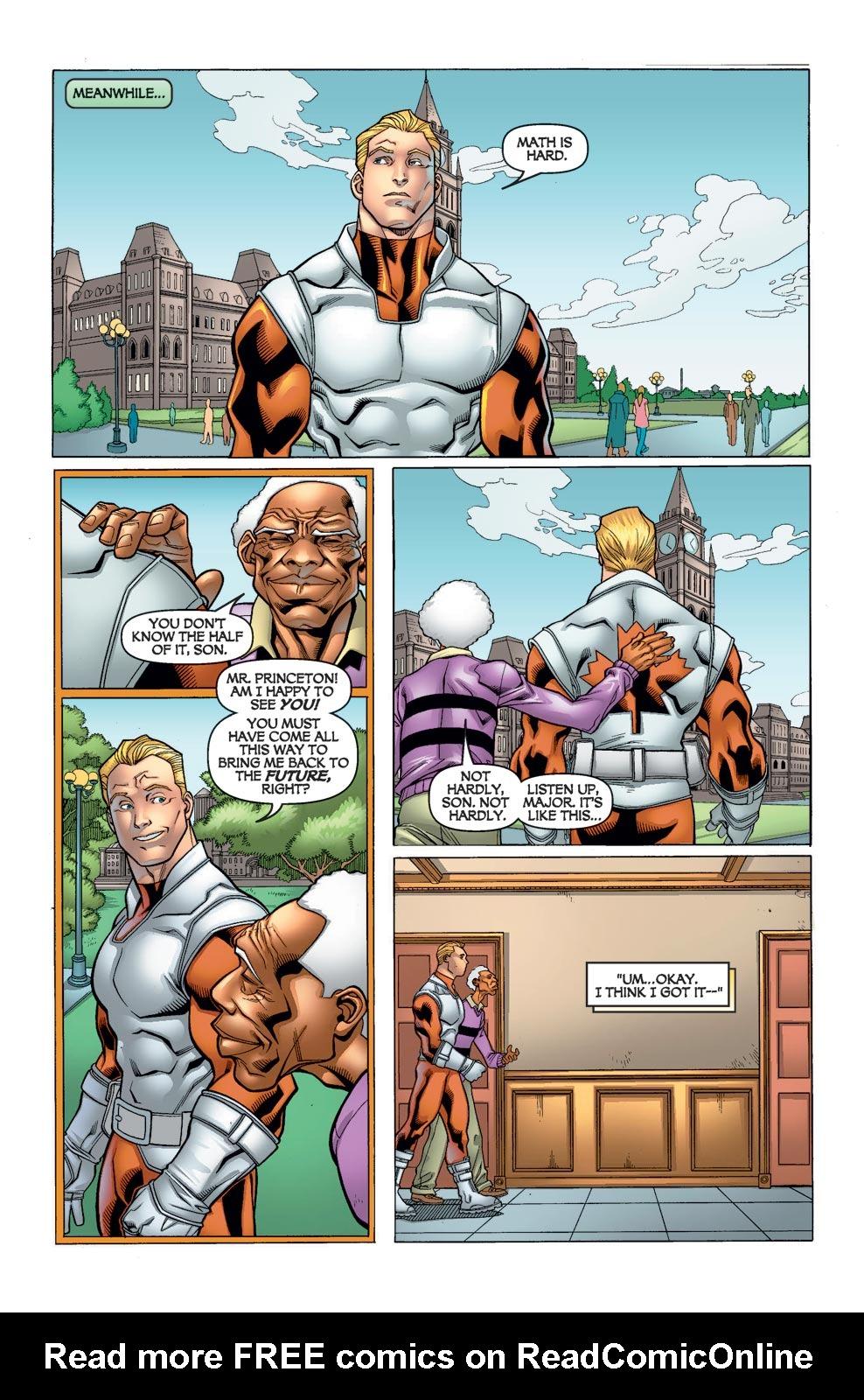 Read online Alpha Flight (2004) comic -  Issue #10 - 16