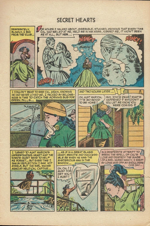 Read online Secret Hearts comic -  Issue #14 - 9