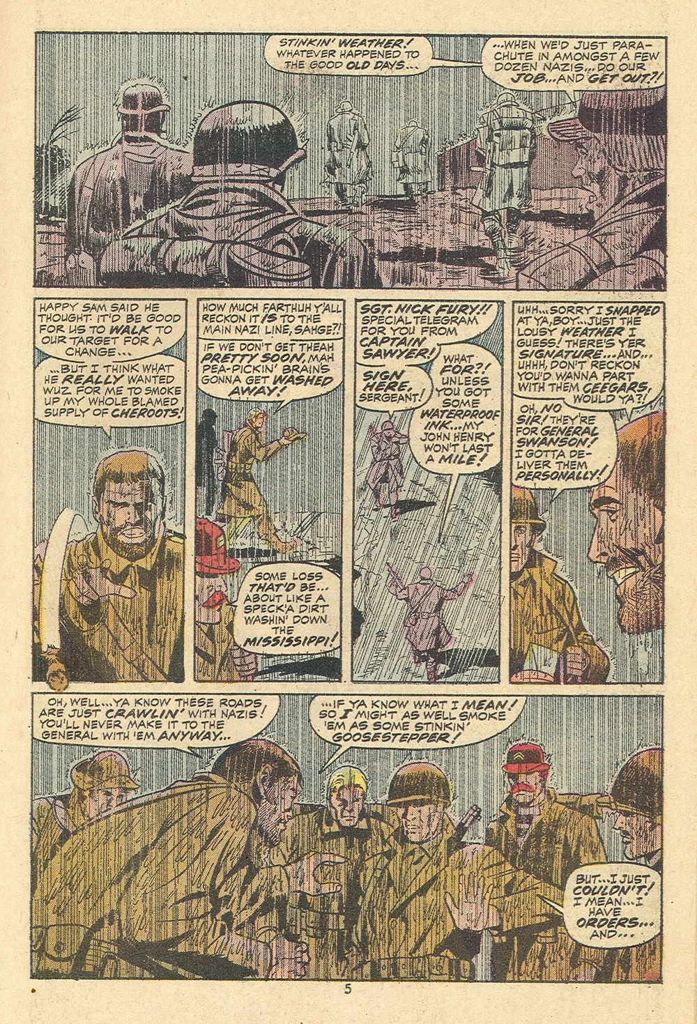 Read online Sgt. Fury comic -  Issue #110 - 7