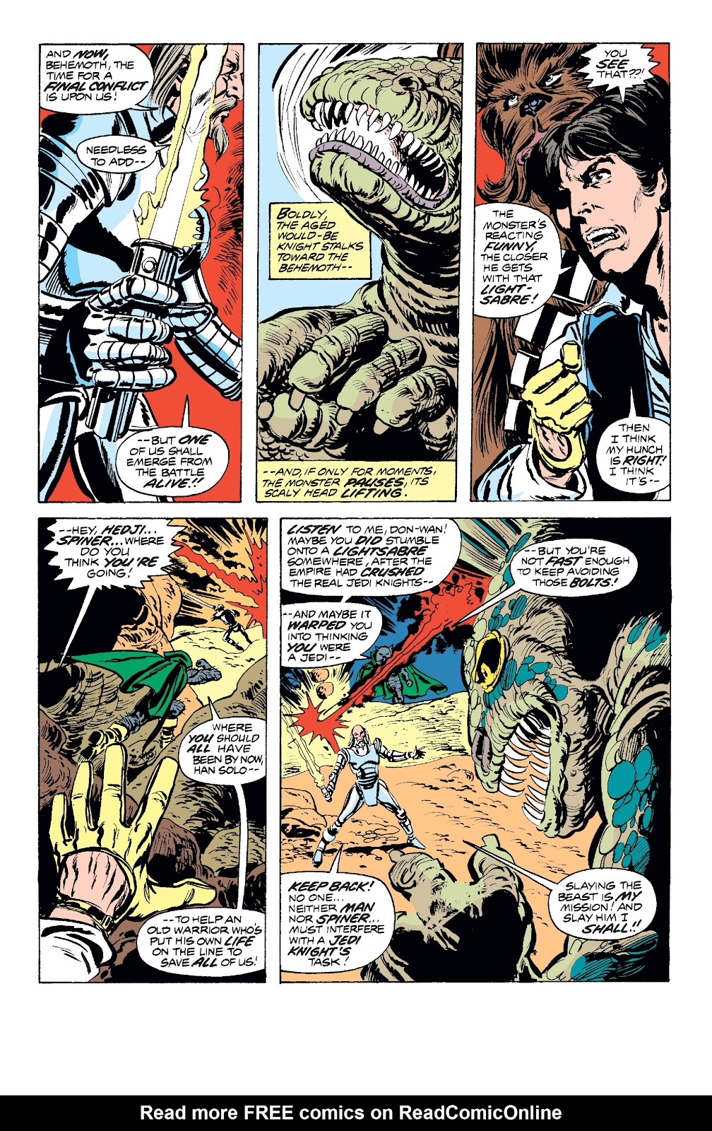 Read online Star Wars Legends: The Original Marvel Years - Epic Collection comic -  Issue # TPB 1 (Part 2) - 84