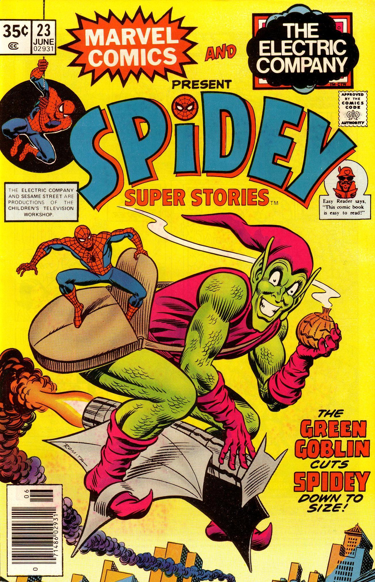 Spidey Super Stories 23 Page 1