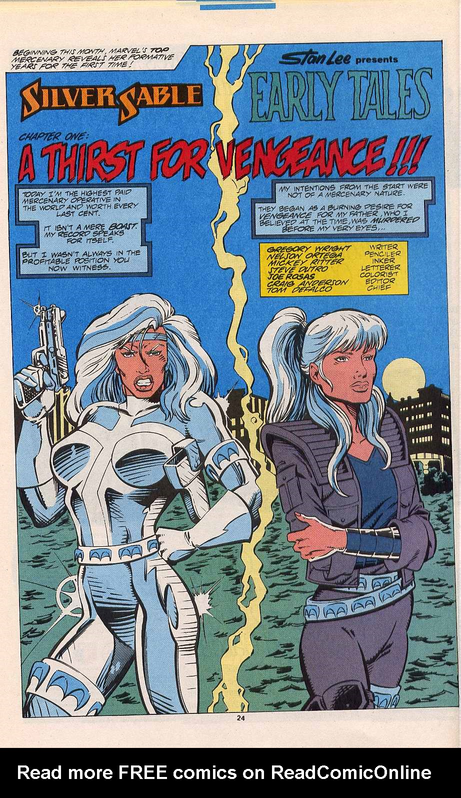 Read online Silver Sable and the Wild Pack comic -  Issue #11 - 19