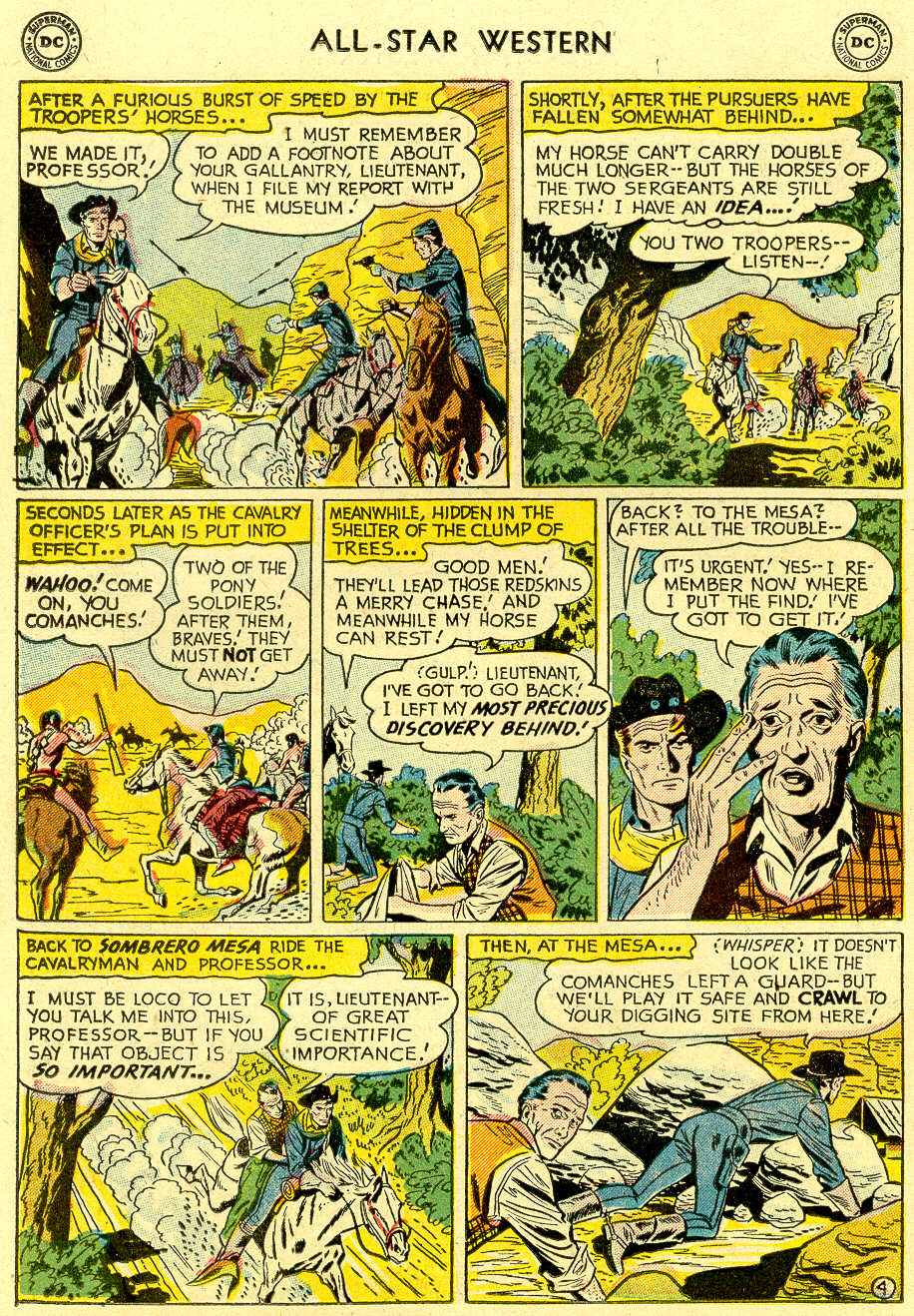 Read online All-Star Western (1951) comic -  Issue #83 - 22