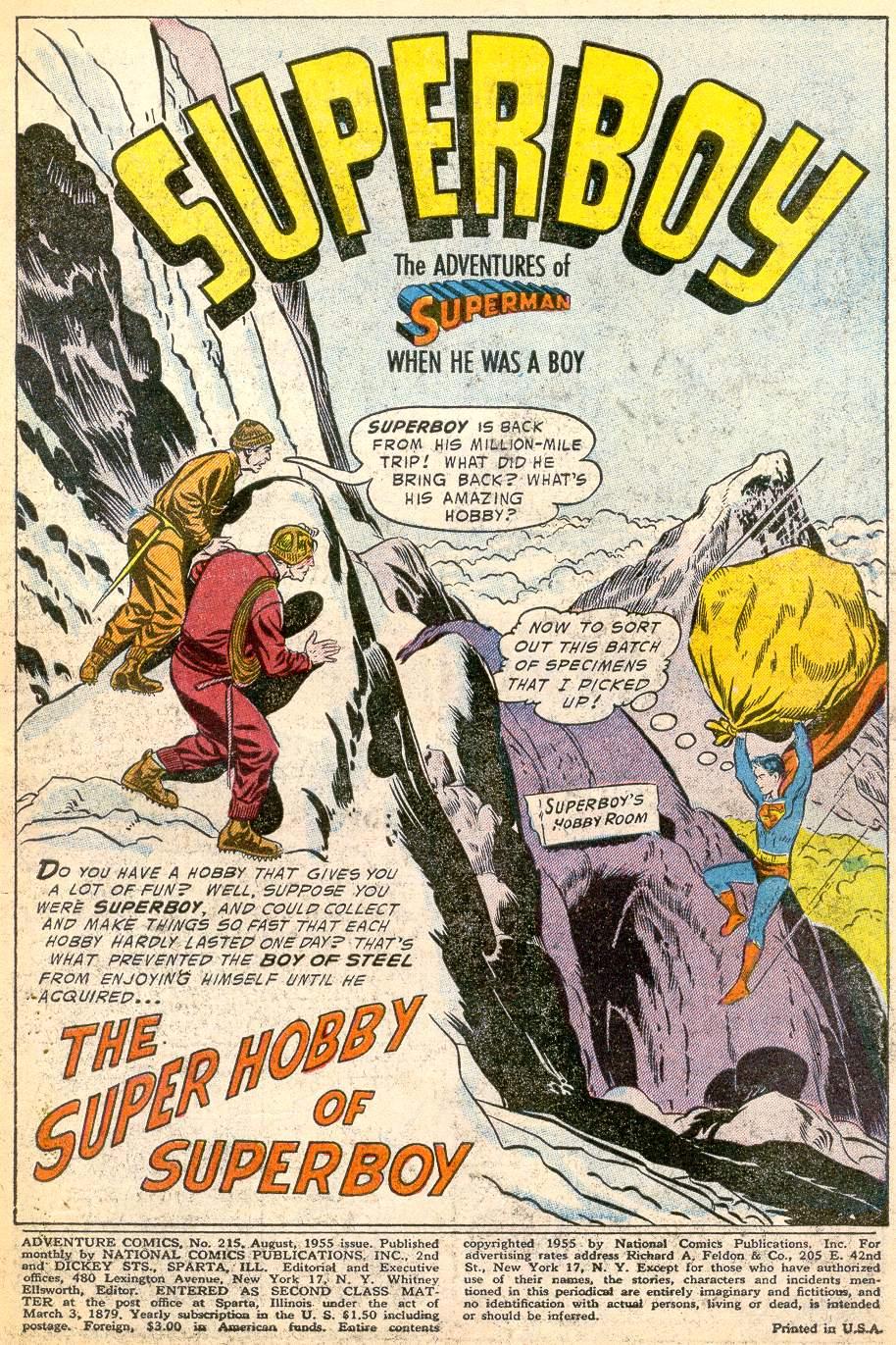 Read online Adventure Comics (1938) comic -  Issue #215 - 3