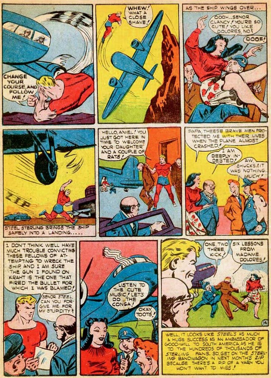 Zip Comics issue 19 - Page 16