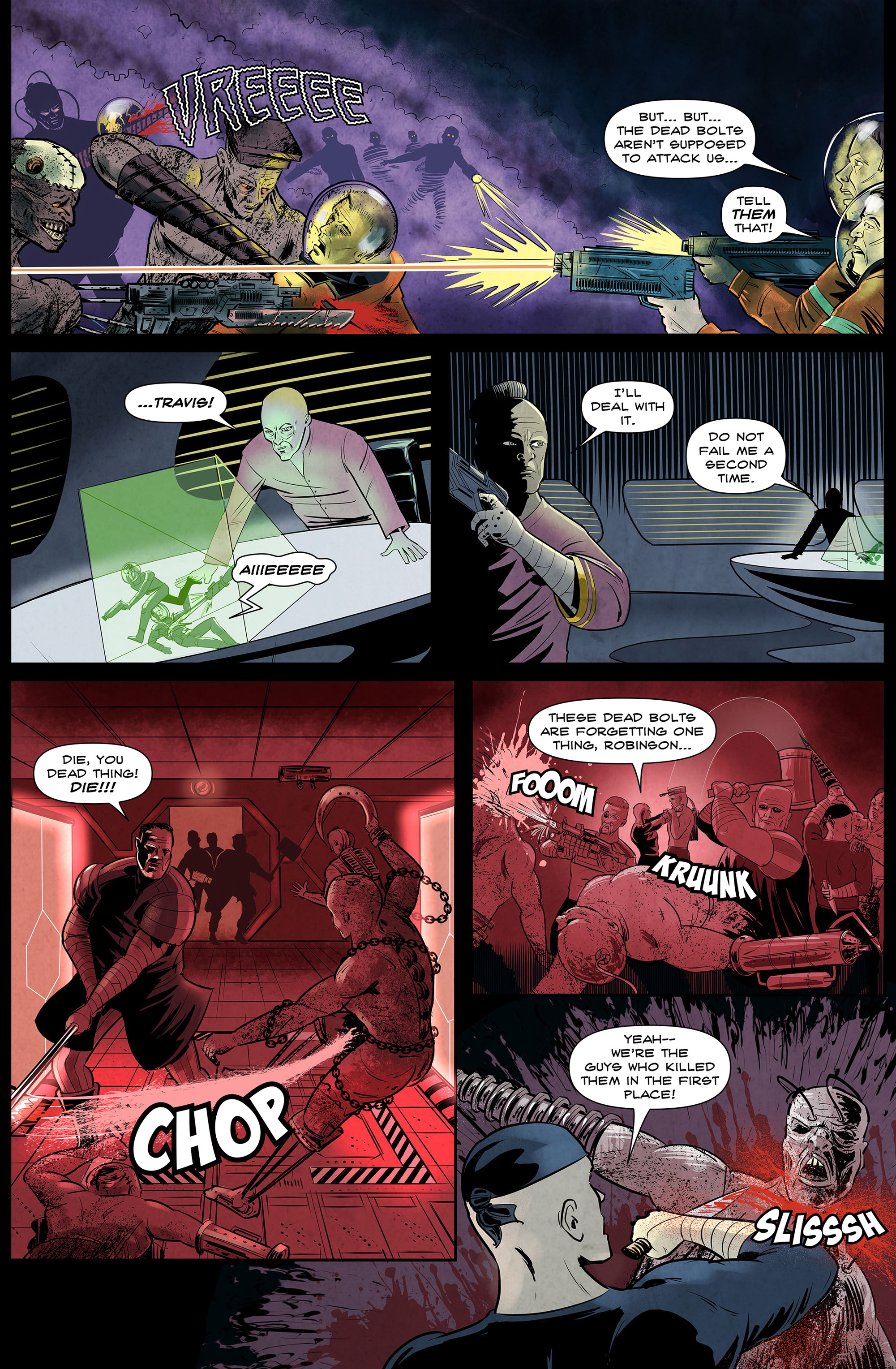 Read online 100% Biodegradable comic -  Issue #14 - 32