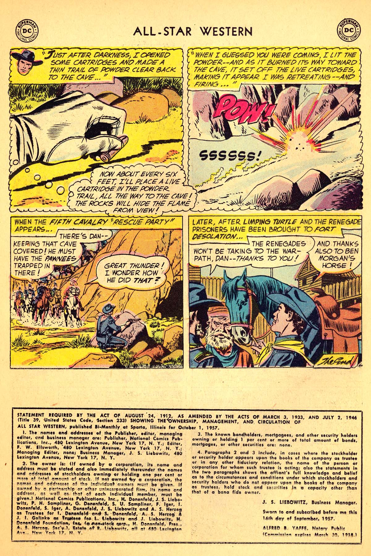 Read online All-Star Western (1951) comic -  Issue #99 - 26