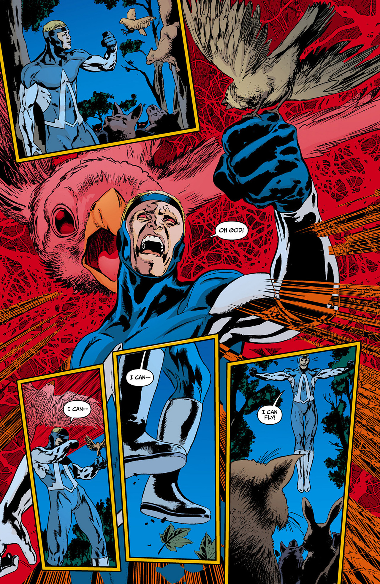 Read online Animal Man (2011) comic -  Issue #0 - 14