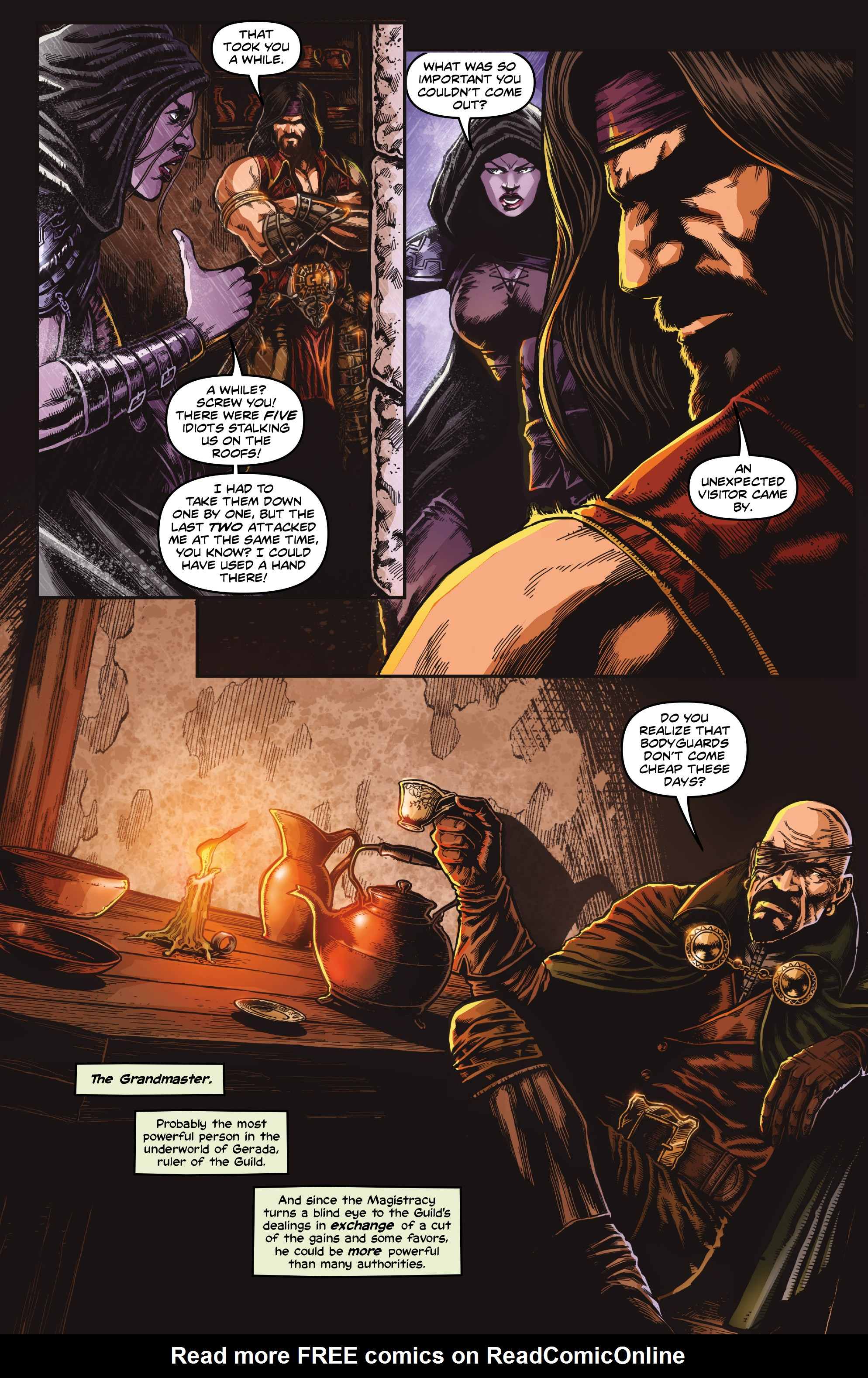 Read online Rogues!: The Burning Heart comic -  Issue #4 - 5