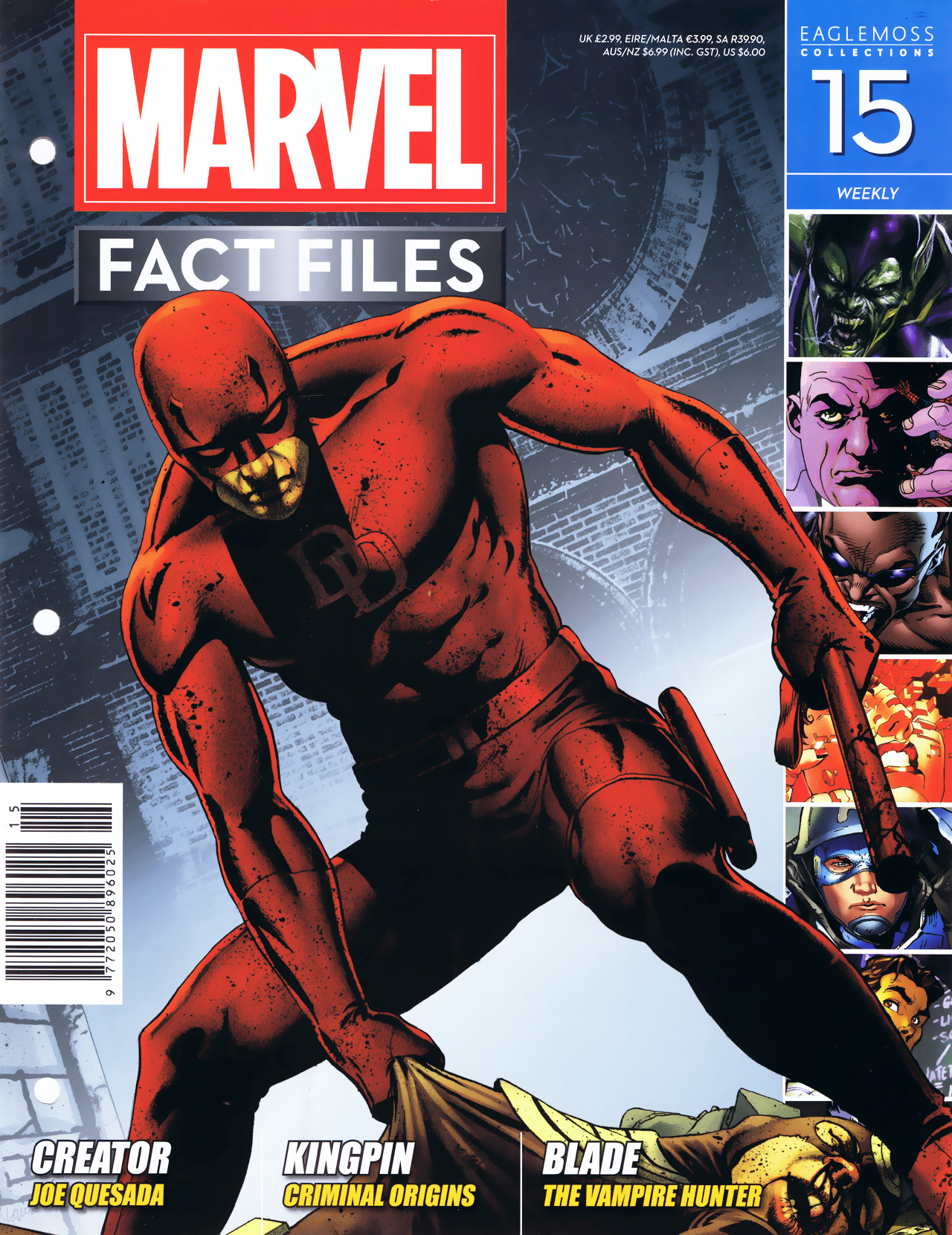 Marvel Fact Files 15 Page 1