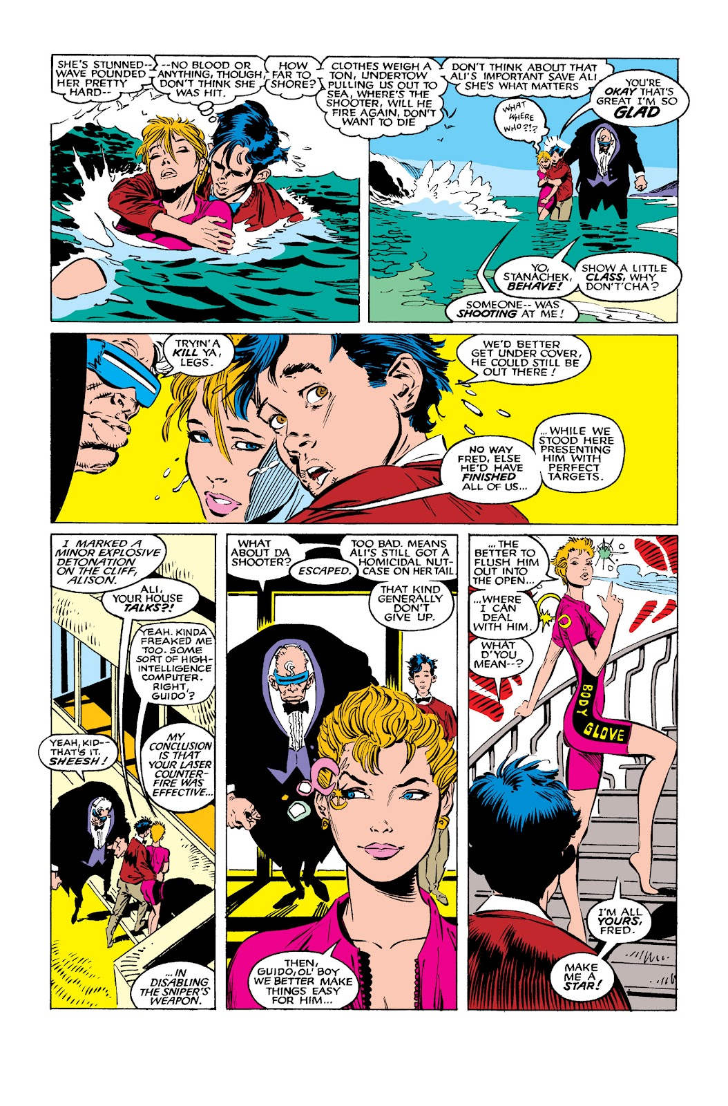 Uncanny X-Men (1963) issue 260 - Page 9