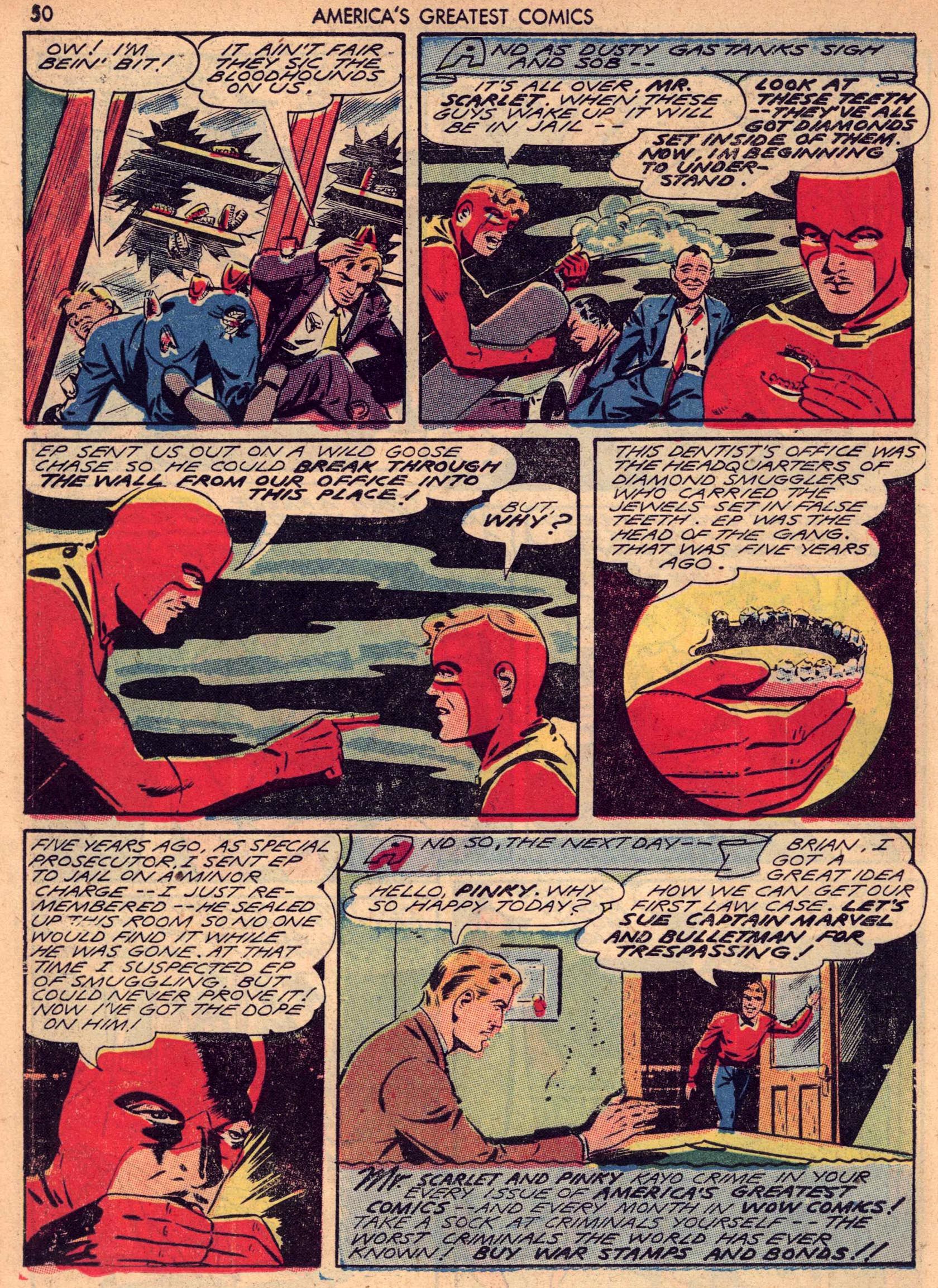 Read online America's Greatest Comics comic -  Issue #7 - 49