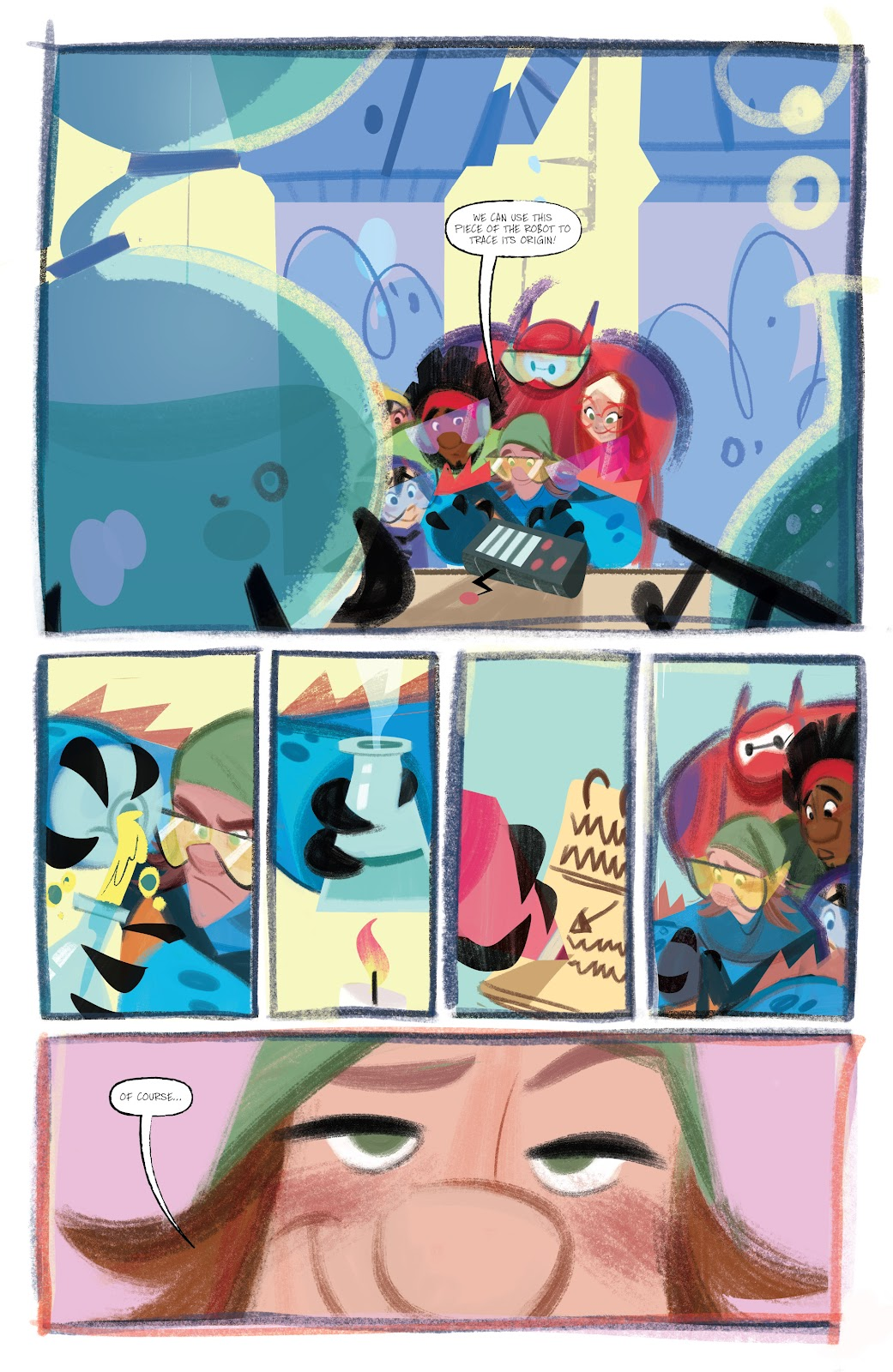 Read online Big Hero 6: The Series comic -  Issue #1 - 12