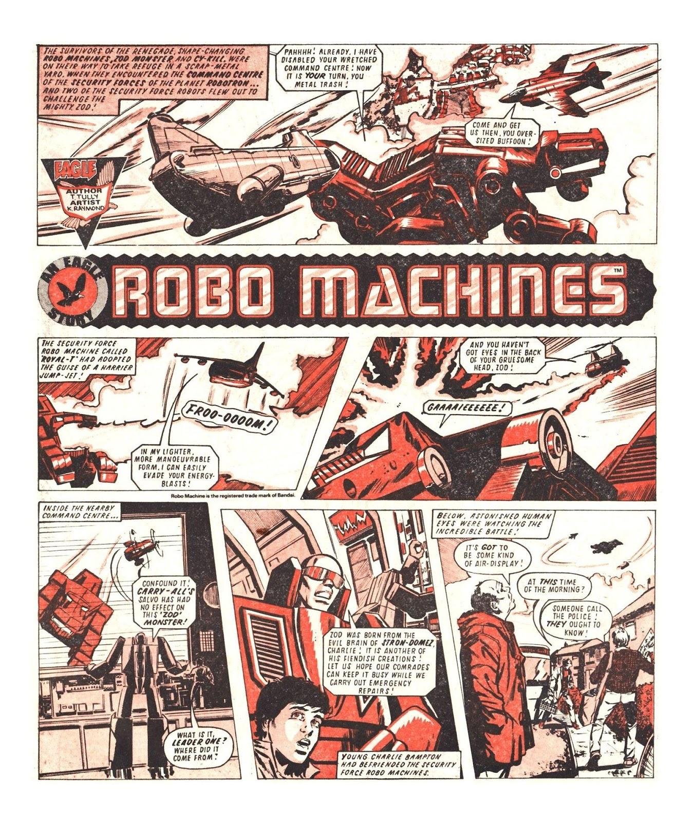 Read online Robo Machines comic -  Issue # TPB - 76