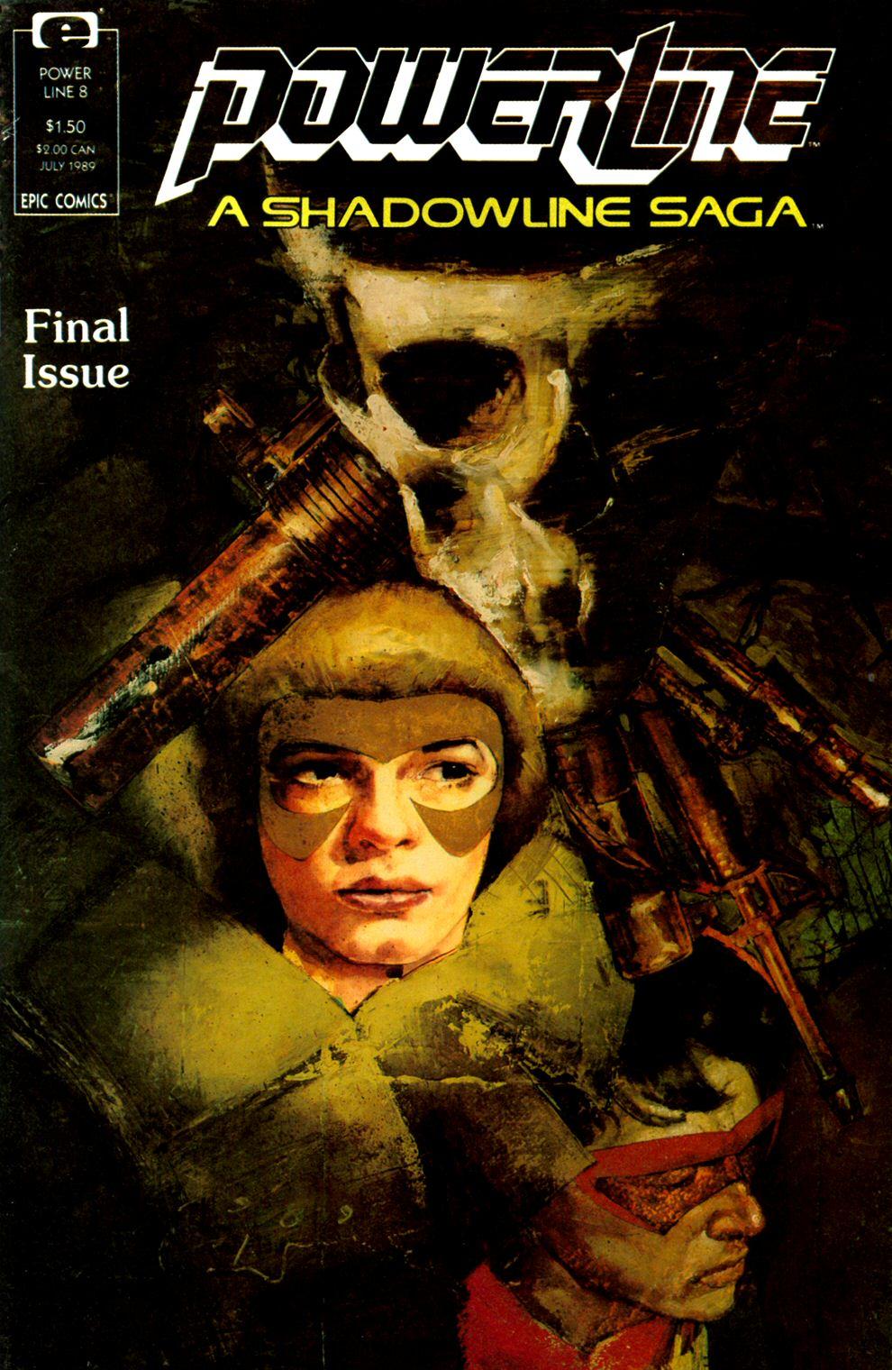Read online Powerline comic -  Issue #8 - 1