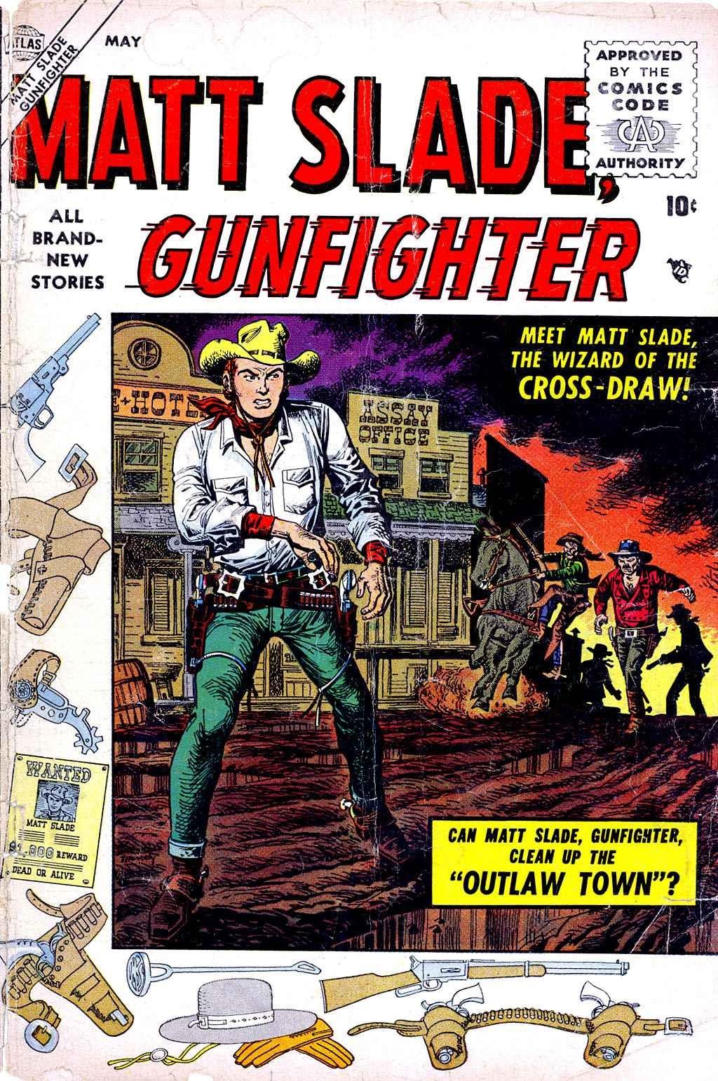 Matt Slade, Gunfighter 1 Page 1