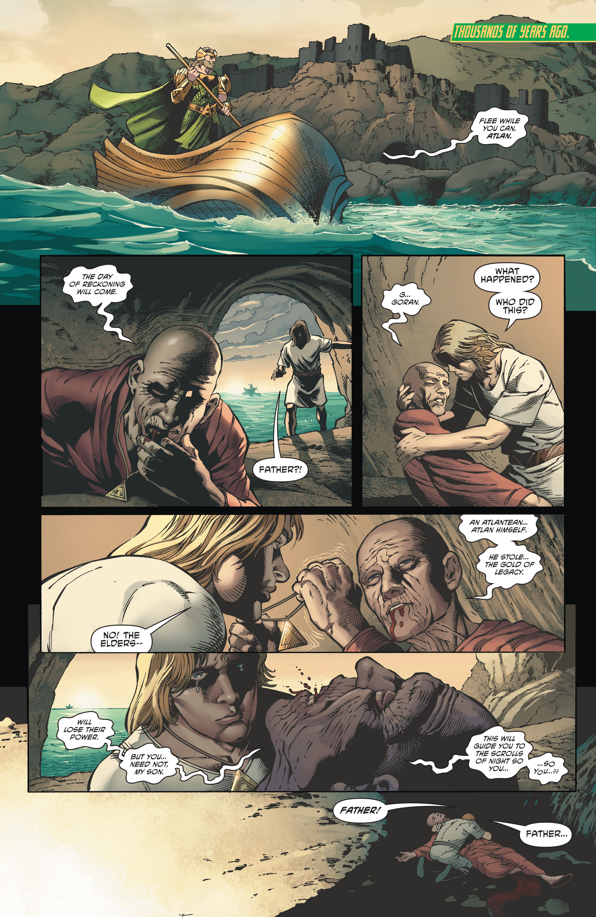 Read online Aquaman and the Others comic -  Issue #2 - 2