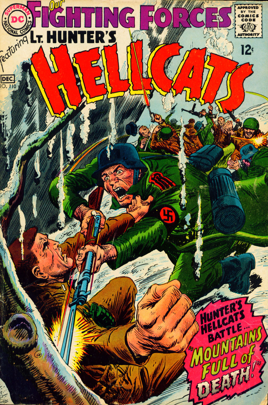 Our Fighting Forces (1954) issue 110 - Page 1