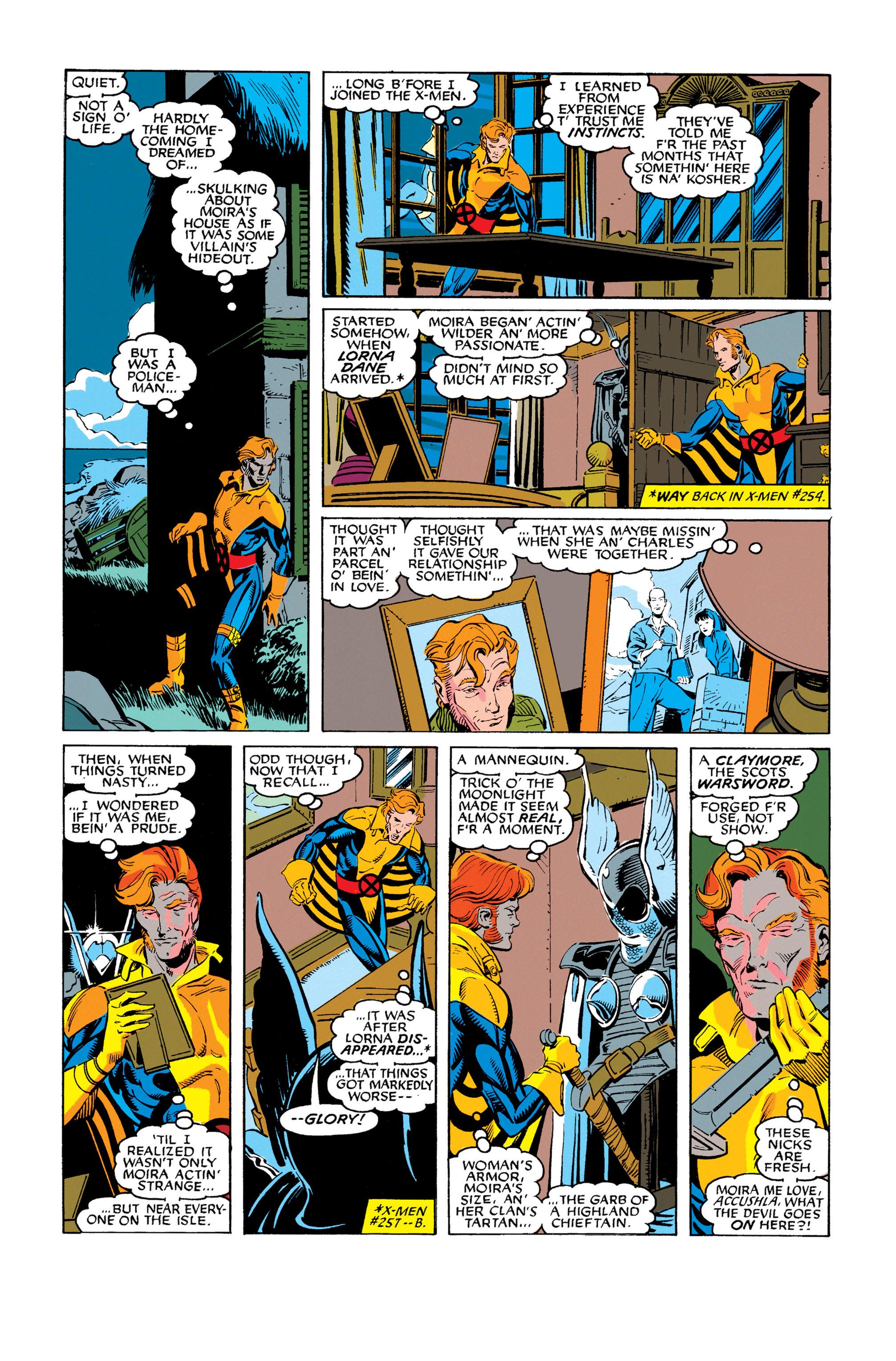 Read online Uncanny X-Men (1963) comic -  Issue #278 - 16