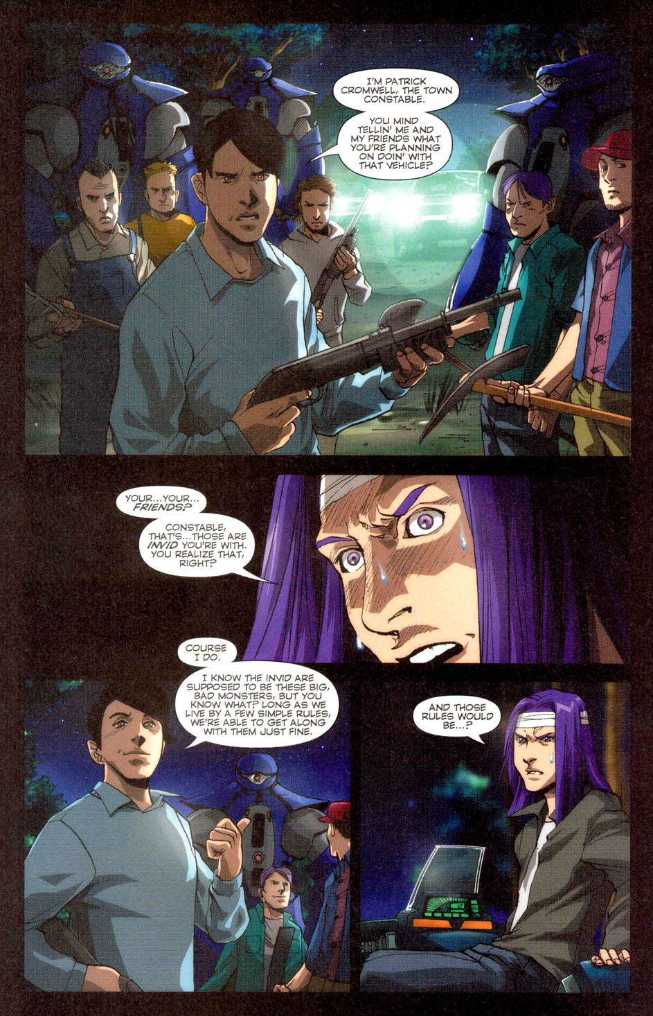 Read online Robotech: Invasion comic -  Issue #2 - 13