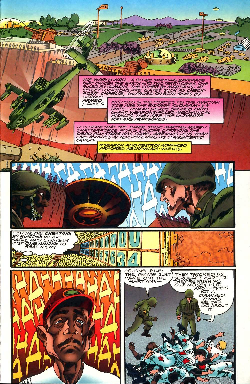 Read online Mars Attacks Baseball Special comic -  Issue # Full - 9