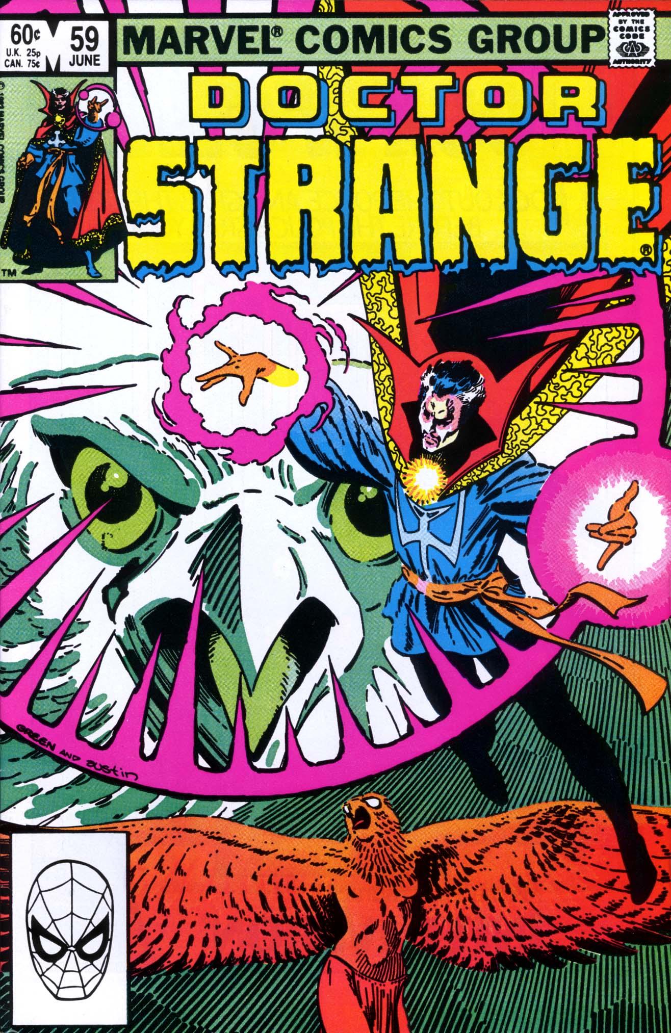 Doctor Strange (1974) 59 Page 1