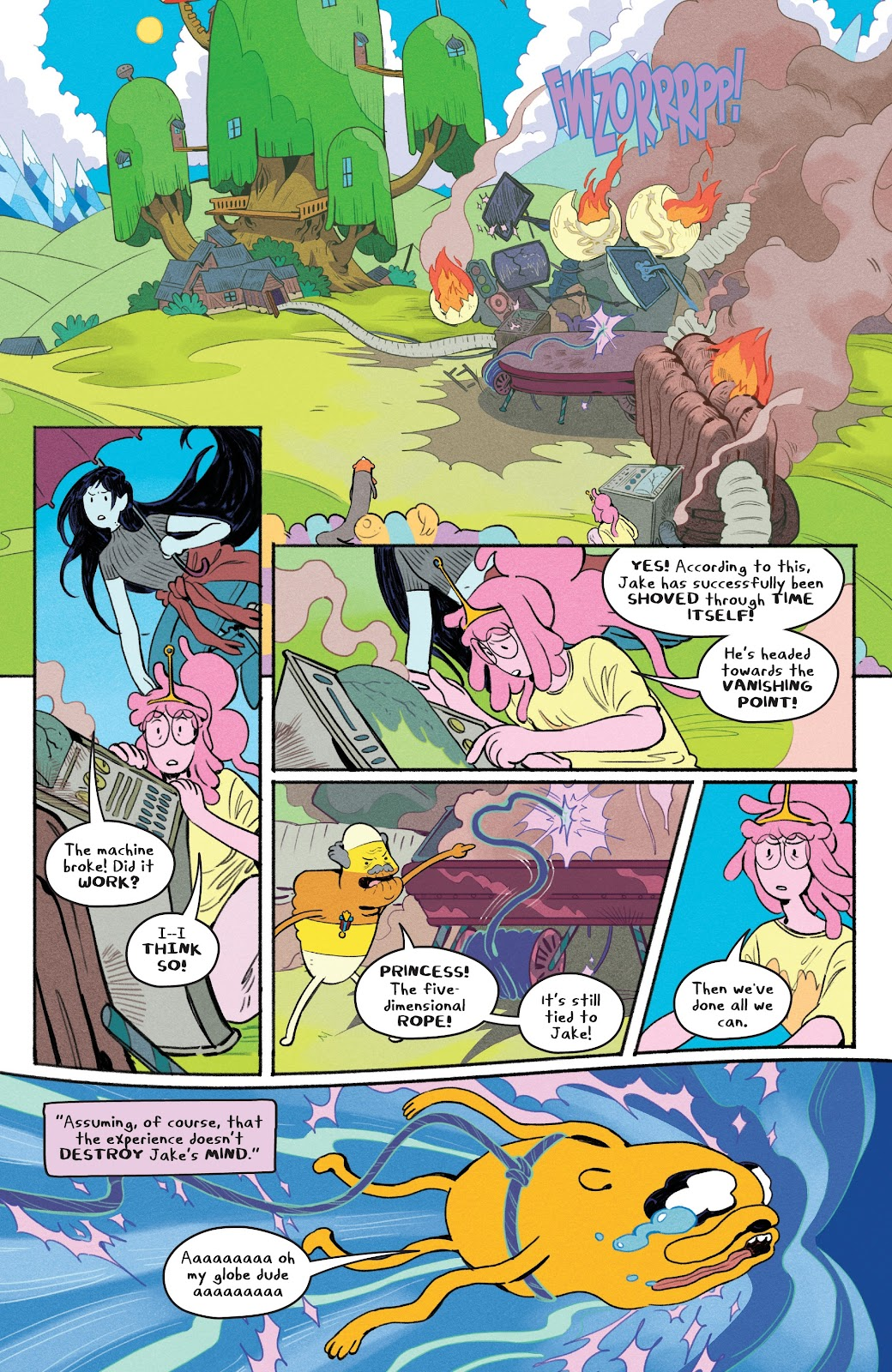 Read online Adventure Time: Beginning of the End comic -  Issue # _TPB - 53