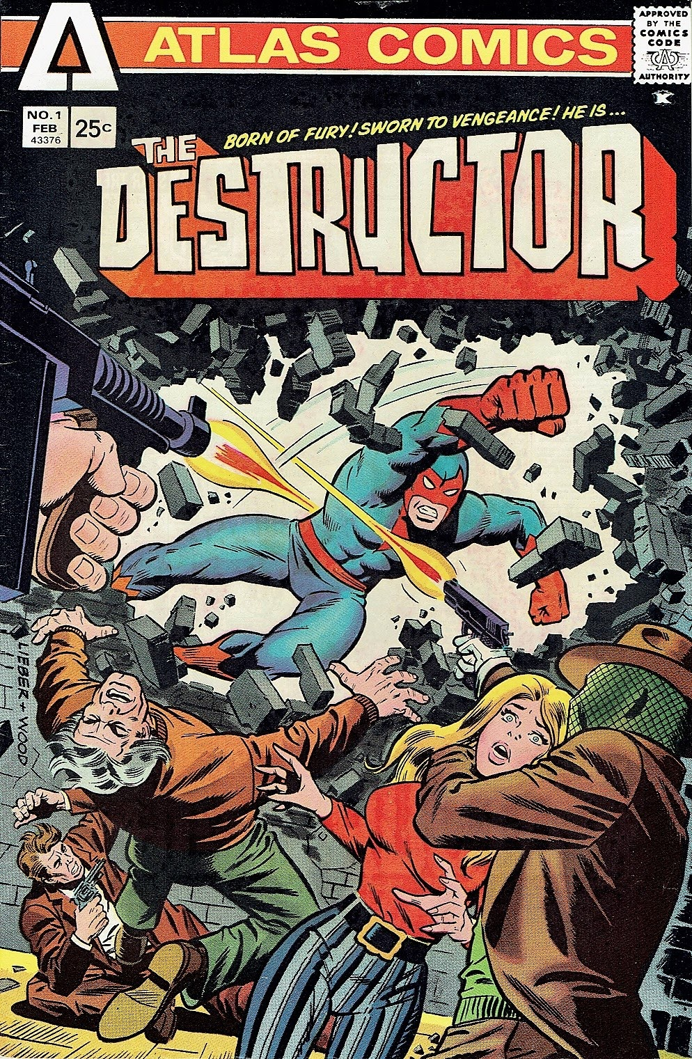 The Destructor issue 1 - Page 1