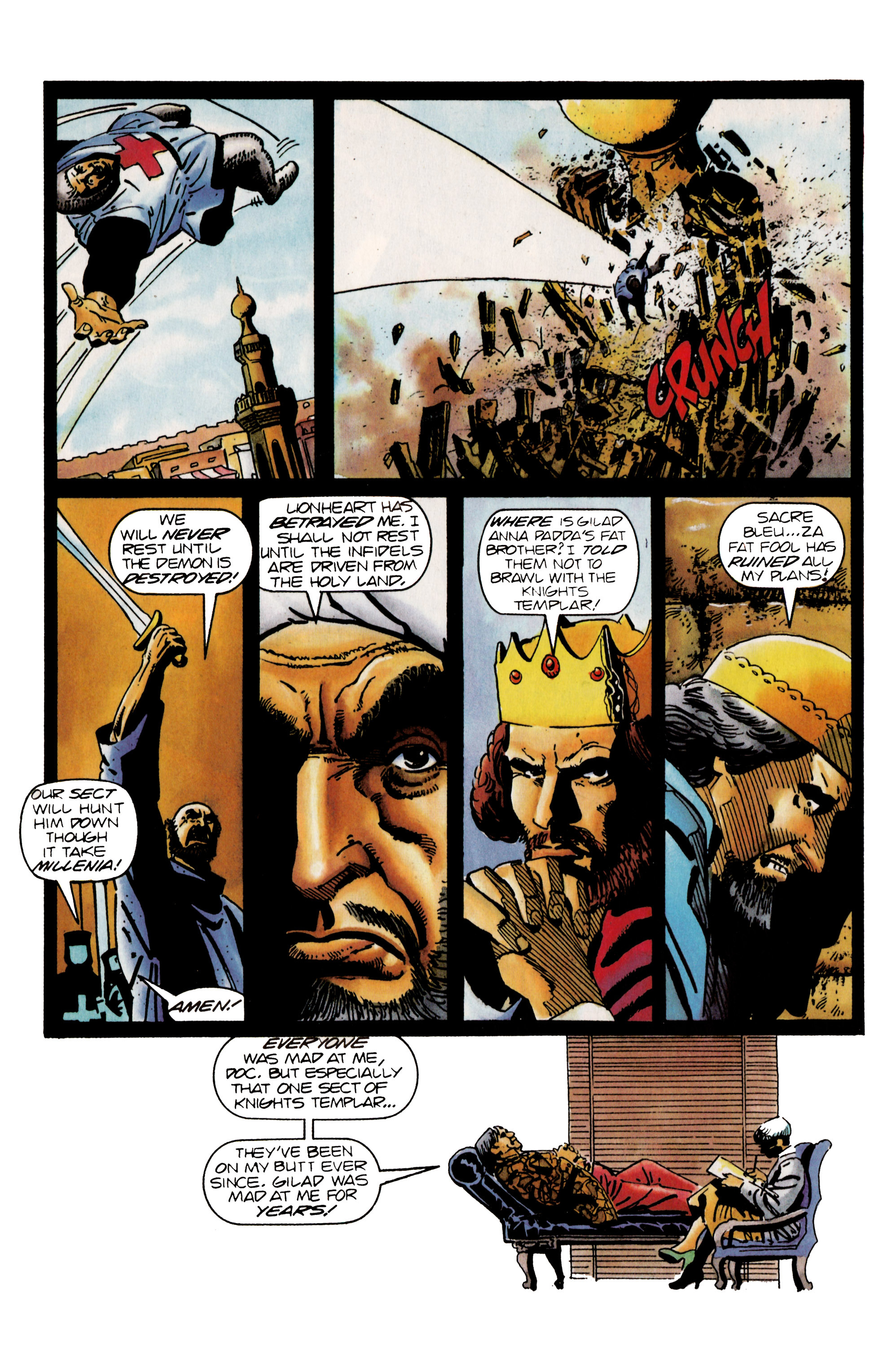 Read online Eternal Warrior (1992) comic -  Issue #25 - 20