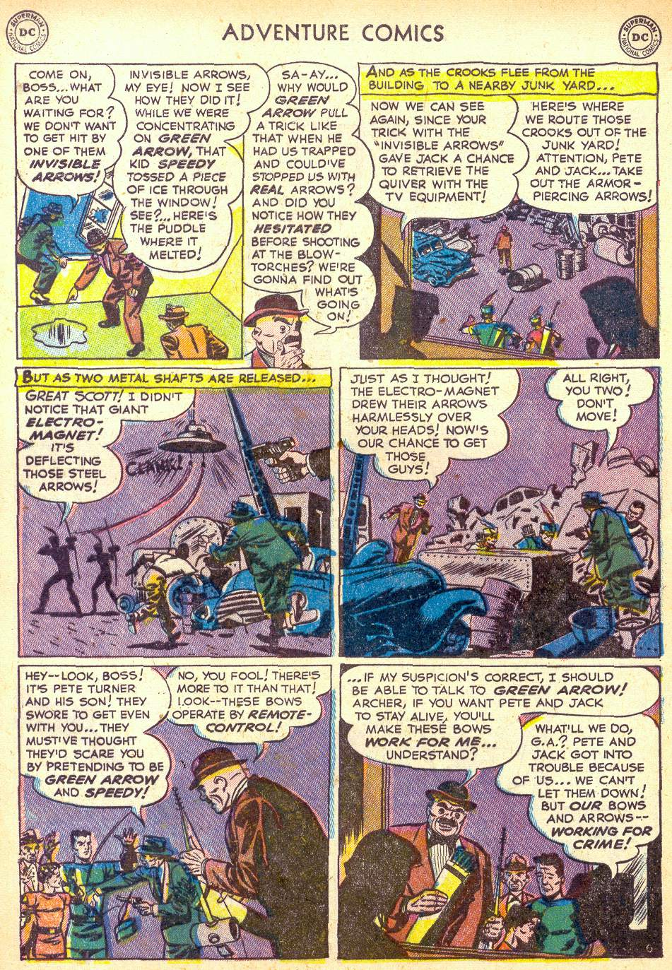 Read online Adventure Comics (1938) comic -  Issue #172 - 38