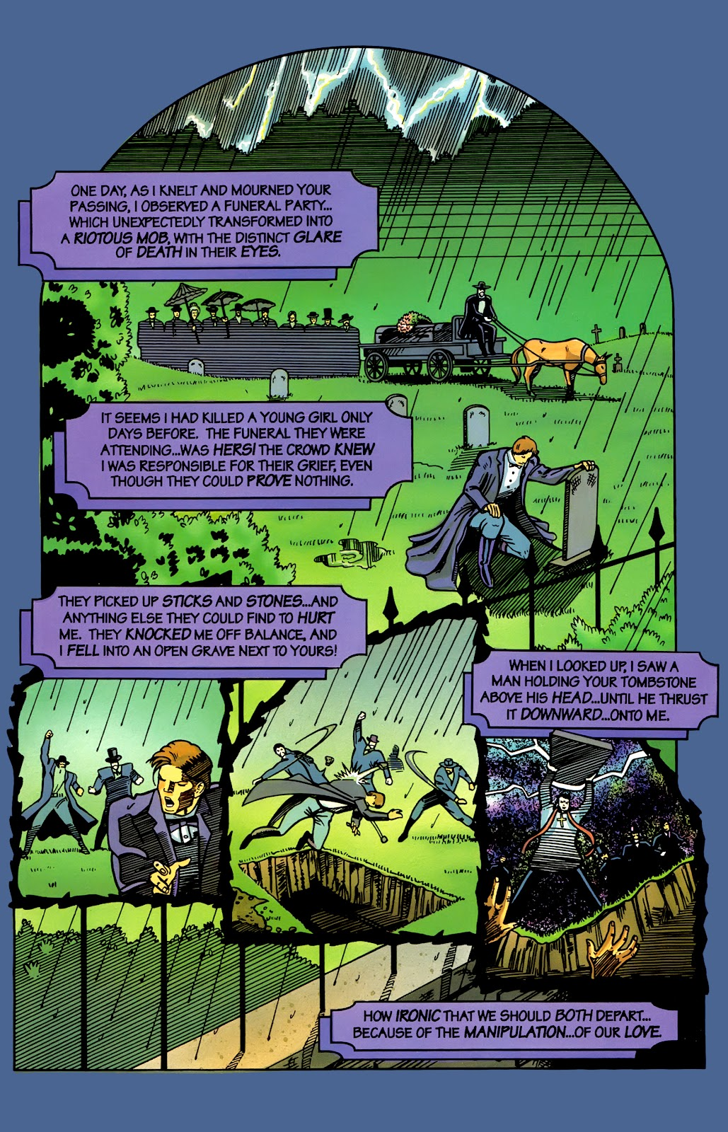 Read online Perg comic -  Issue #4 - 8