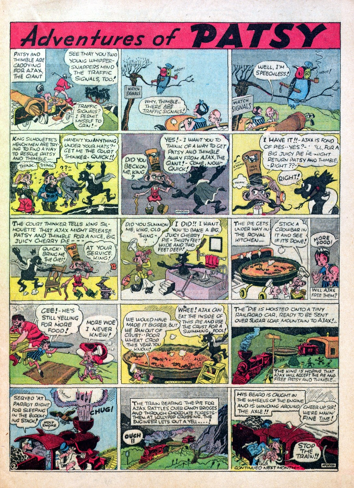 Read online Famous Funnies comic -  Issue #30 - 25