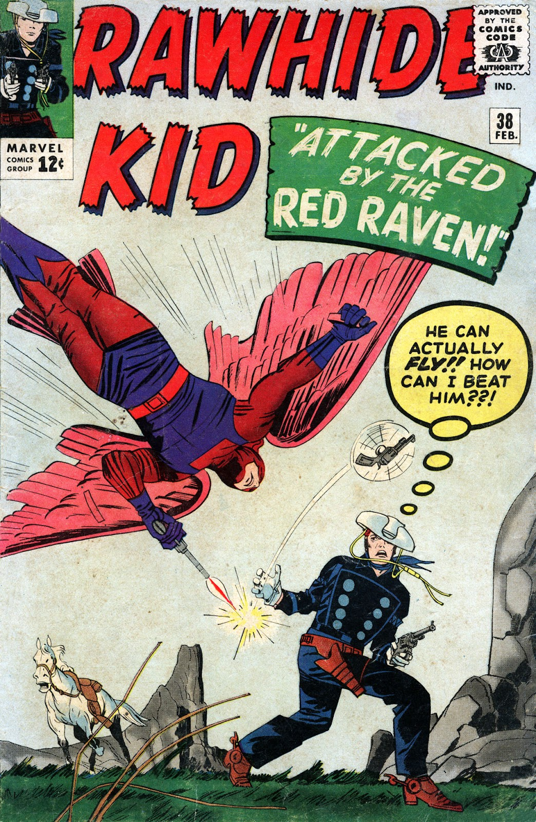 The Rawhide Kid (1955) issue 38 - Page 1
