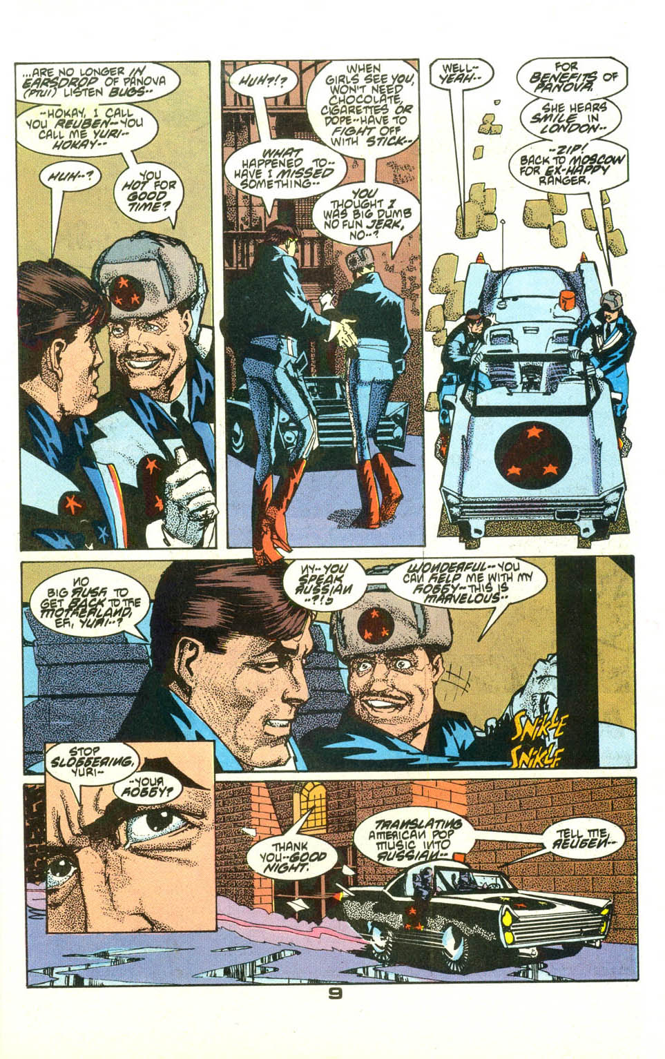 Read online American Flagg! comic -  Issue #23 - 11