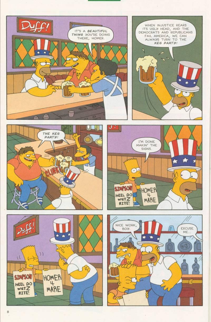 Read online Simpsons Comics comic -  Issue #58 - 9