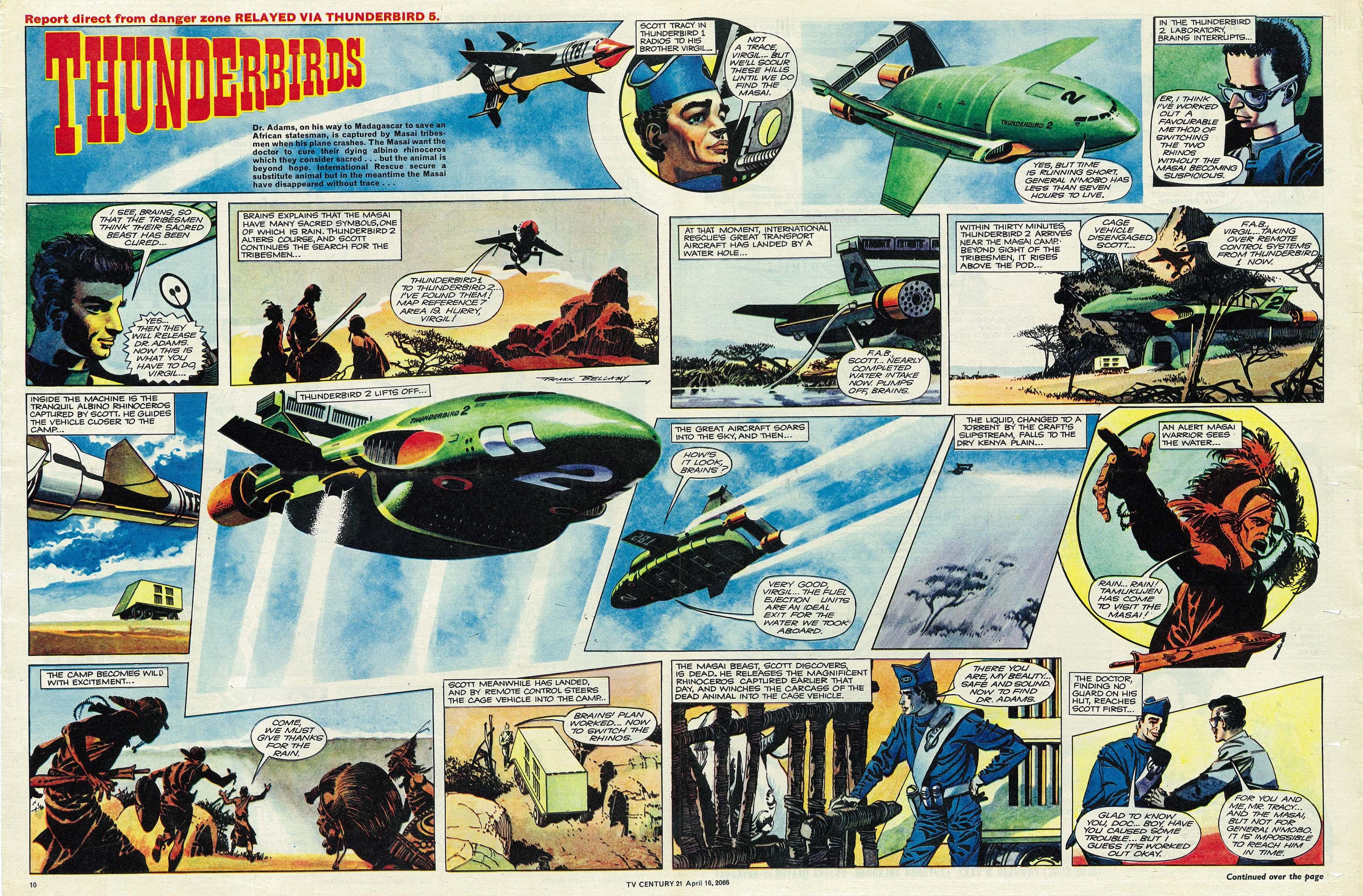 Read online TV Century 21 (TV 21) comic -  Issue #65 - 10