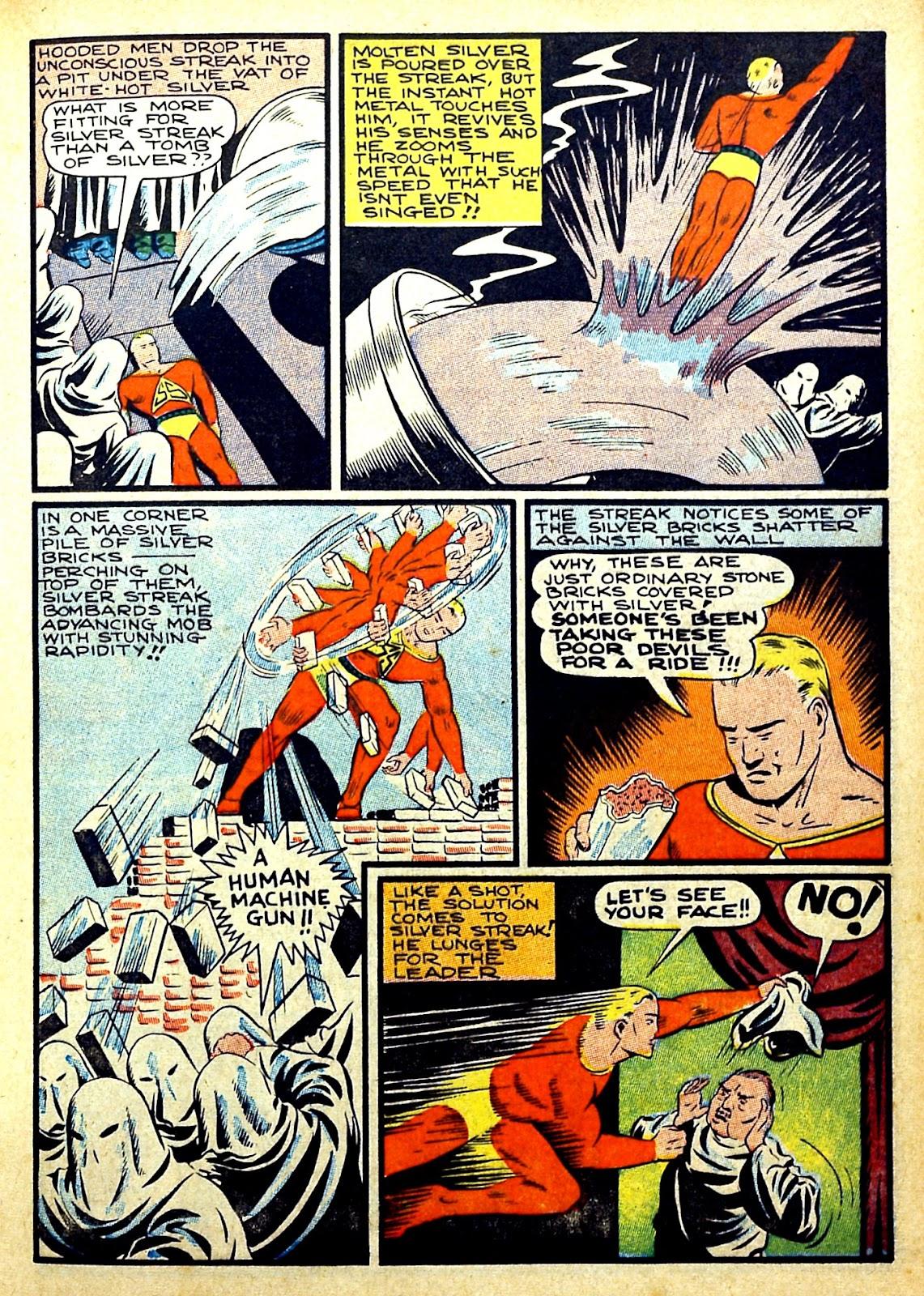 Read online Silver Streak Comics comic -  Issue #22 - 23