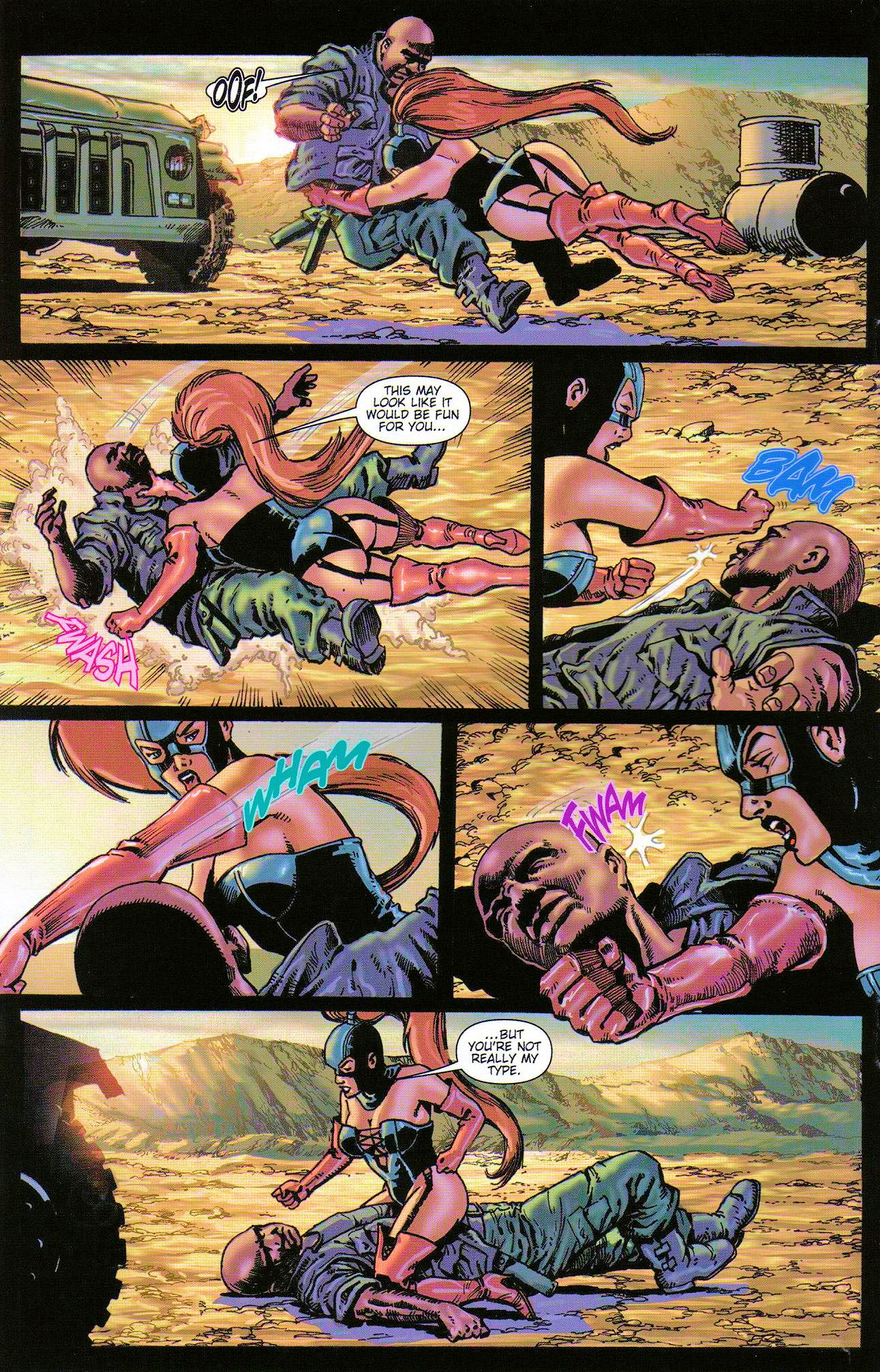 Read online Dominatrix comic -  Issue #3 - 10