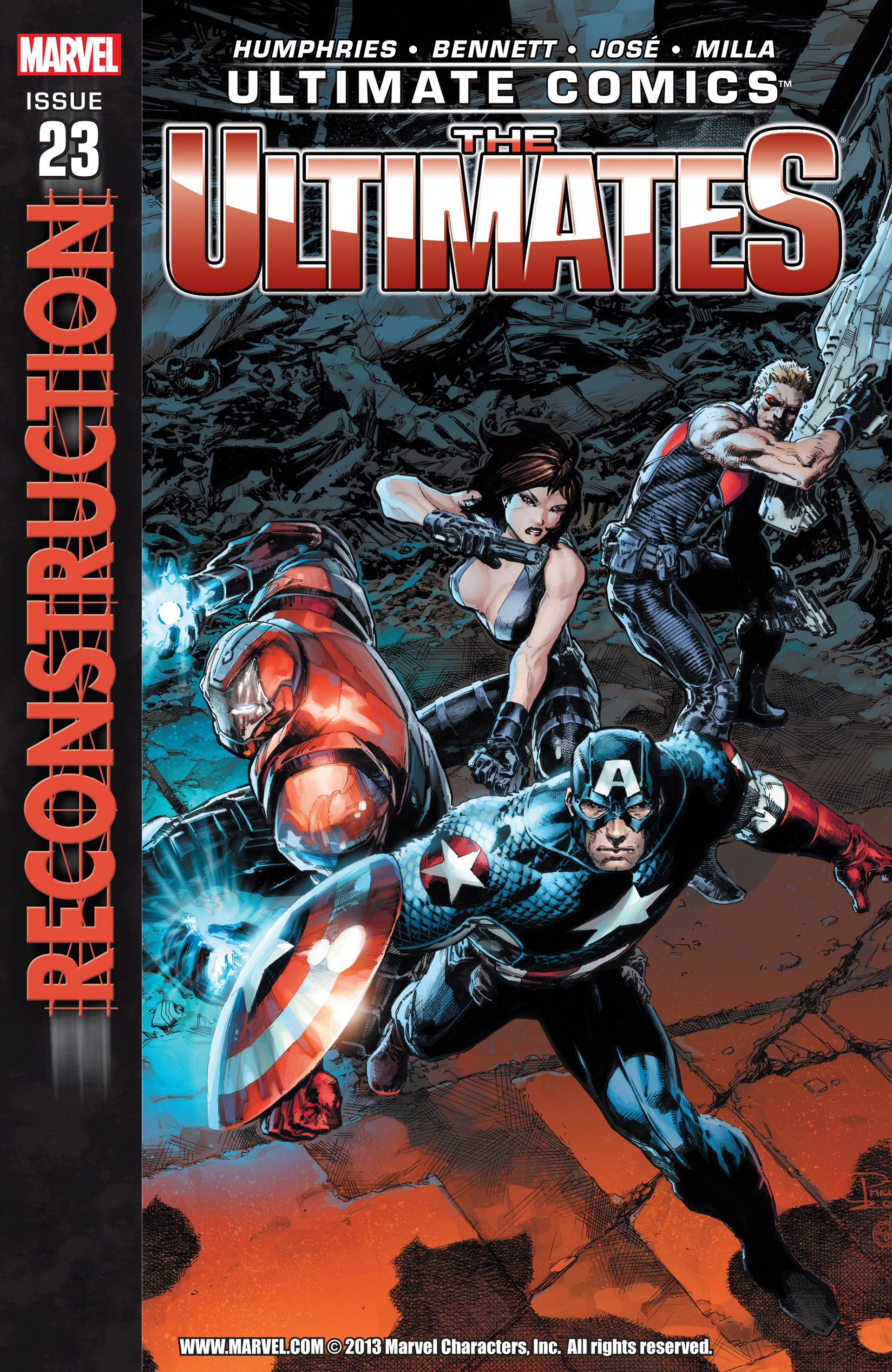 Read online Ultimate Comics Ultimates comic -  Issue #23 - 1