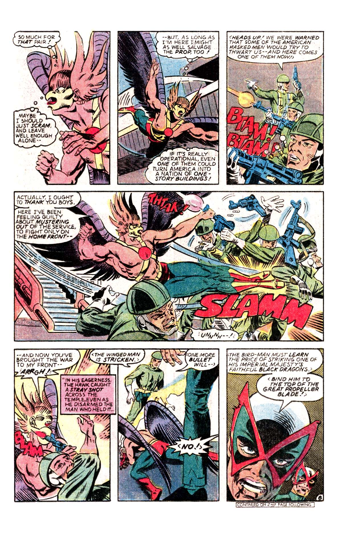 Read online All-Star Squadron comic -  Issue #30 - 9