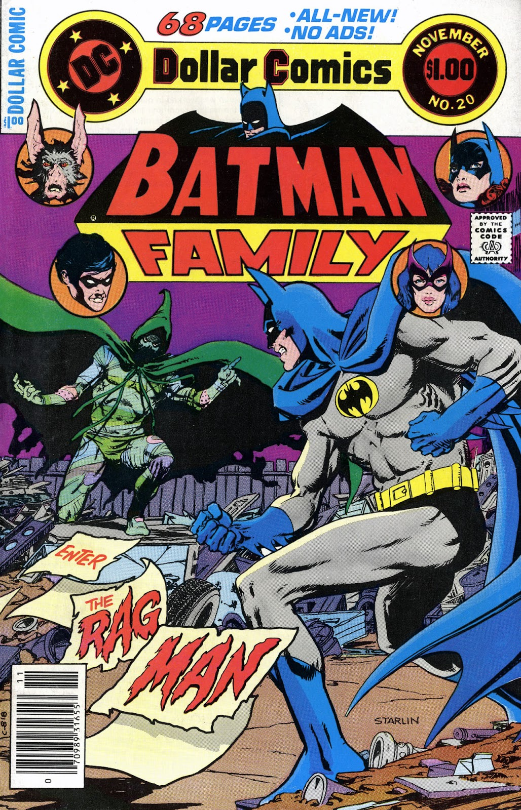 The Batman Family issue 20 - Page 1