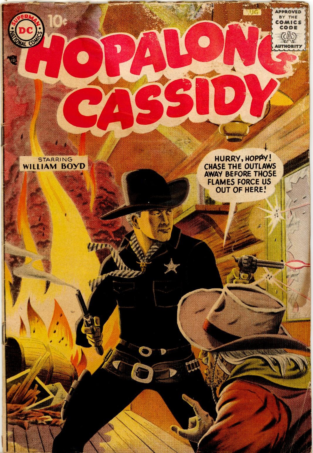 Hopalong Cassidy issue 124 - Page 1