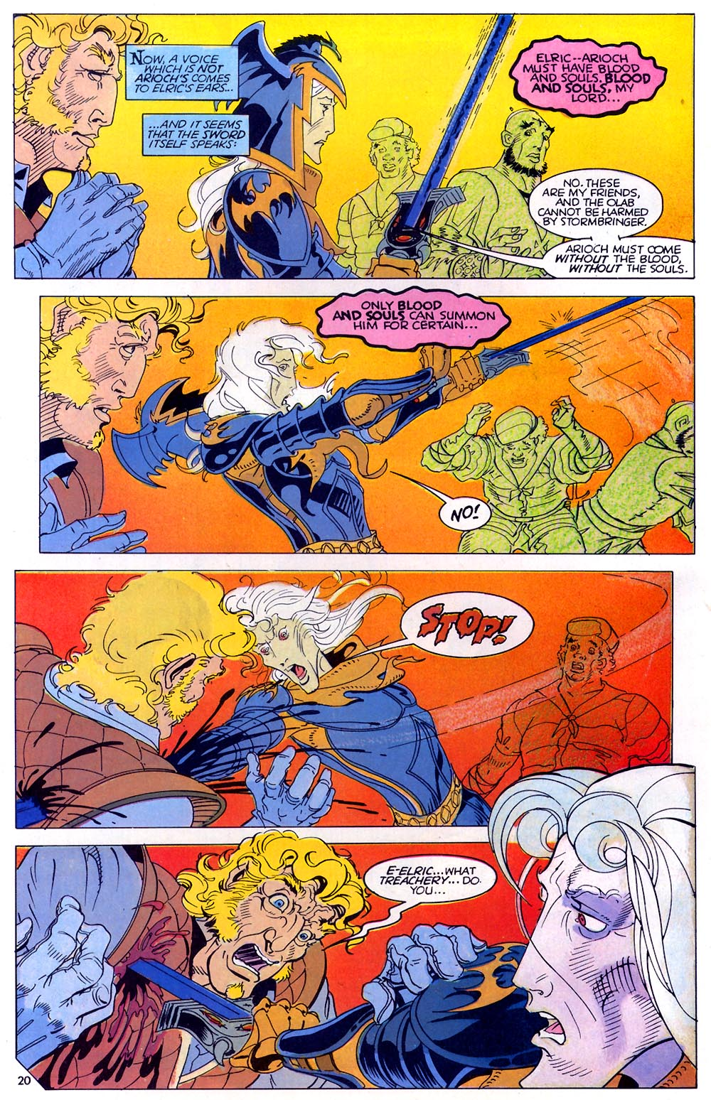 Read online Elric: Sailor on the Seas of Fate comic -  Issue #7 - 21