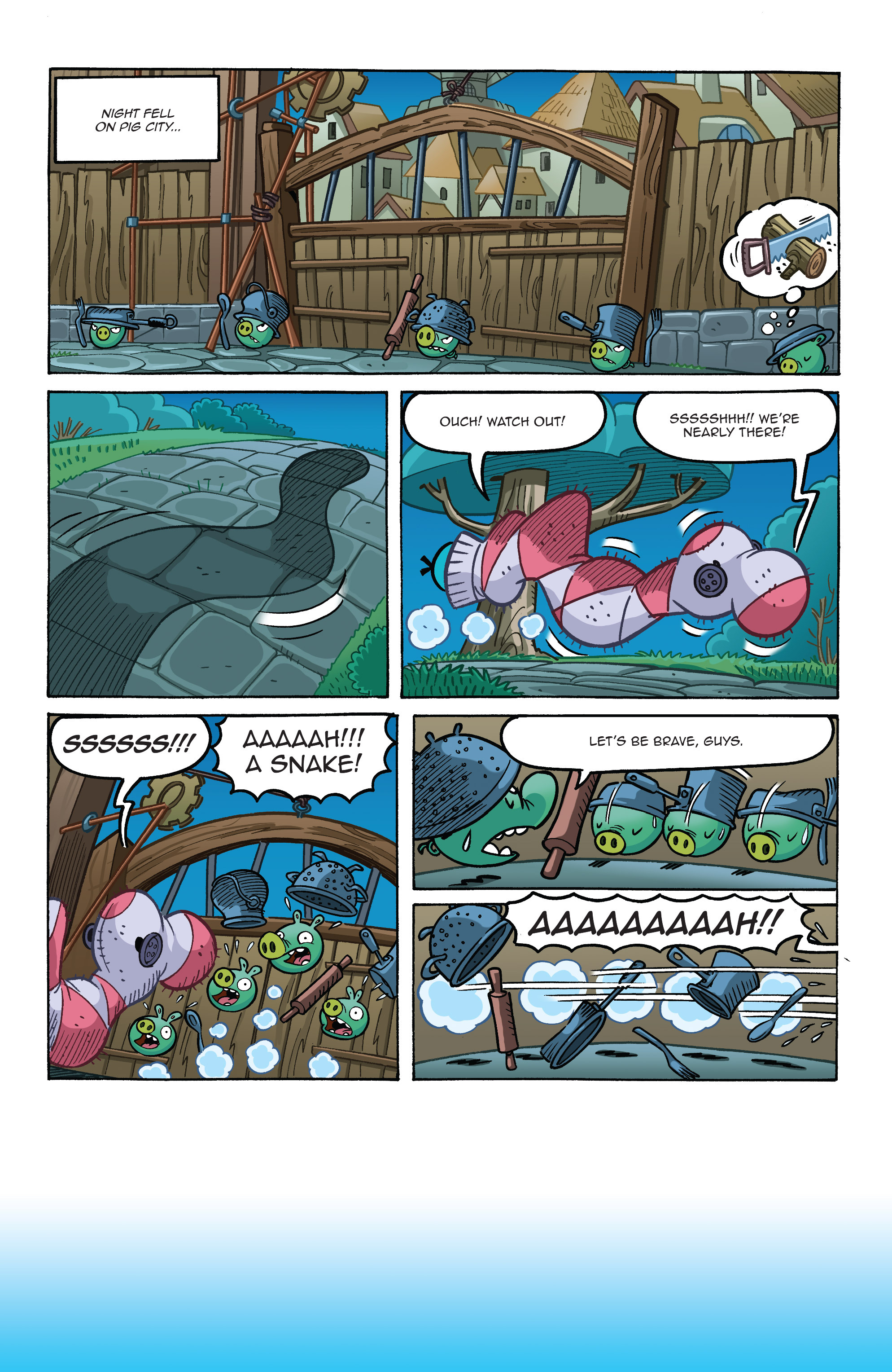 Read online Angry Birds Comics (2014) comic -  Issue #8 - 14