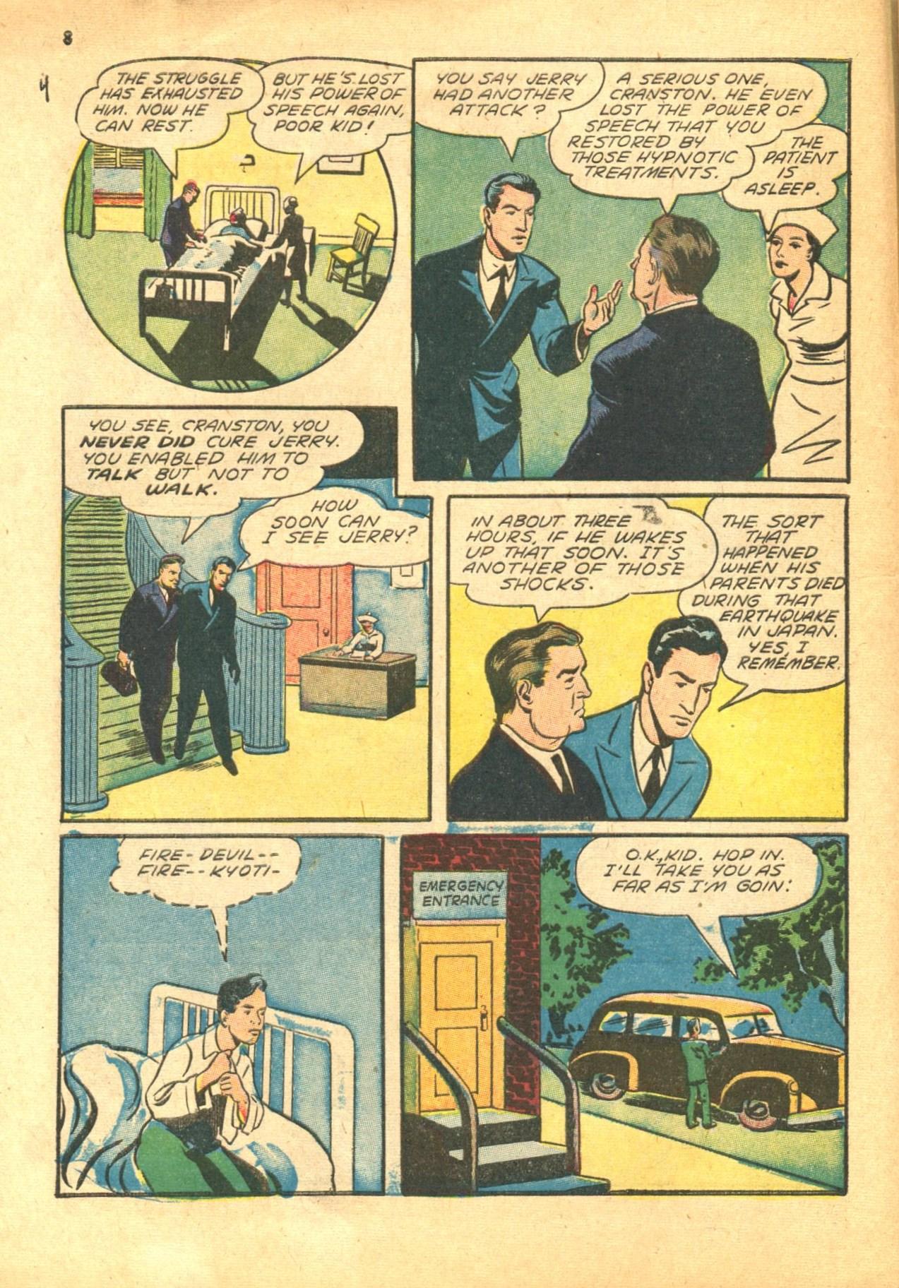Read online Shadow Comics comic -  Issue #24 - 8