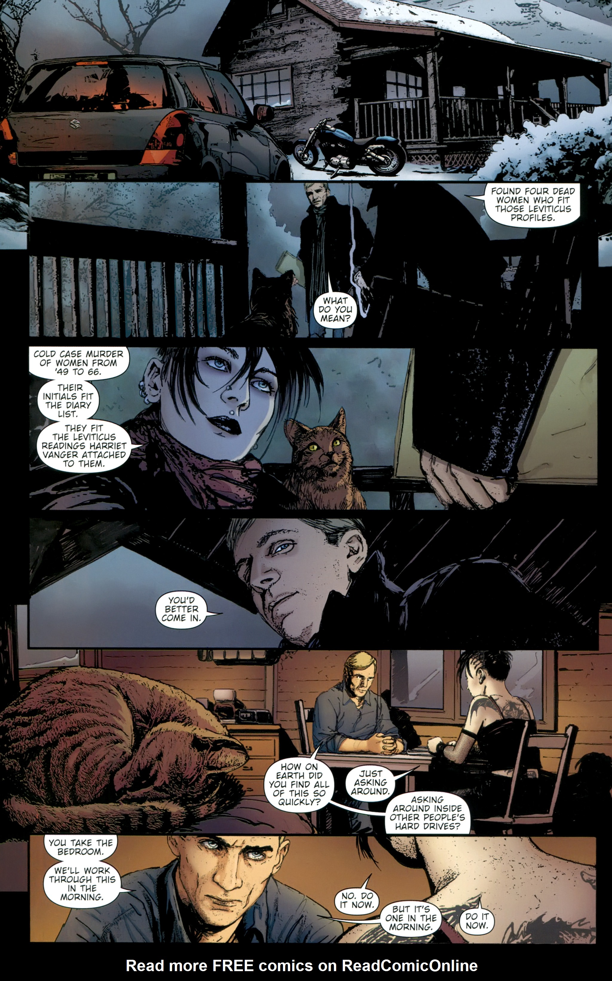 Read online The Girl With the Dragon Tattoo comic -  Issue # TPB 2 - 62