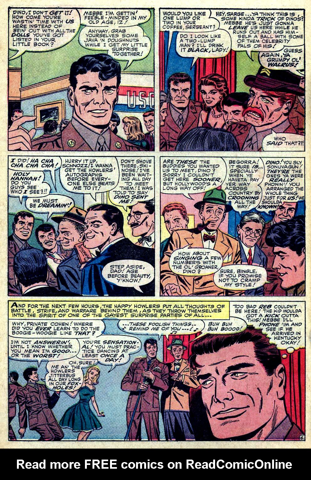 Read online Sgt. Fury comic -  Issue #24 - 10